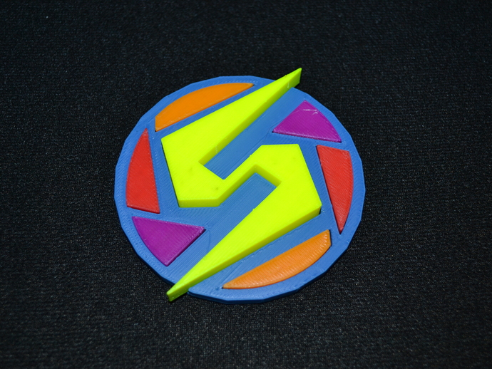 Super Metroid Samus Logo by redbeardmathpirate - Thingiverse