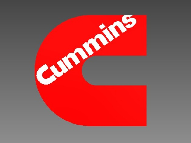 Cummins Logo by cpester1997 - Thingiverse