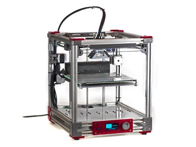 Ultimaker 2 Aluminum Extrusion 3d Printer By Jasonatepaint