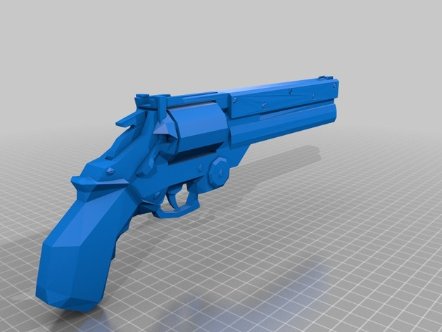Trigun Revolver By Fortune2121 Thingiverse
