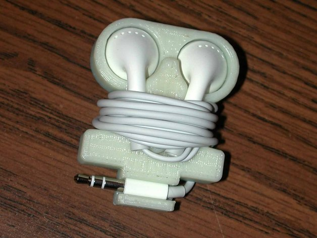 Apple Earbud Holder By HPaul Thingiverse
