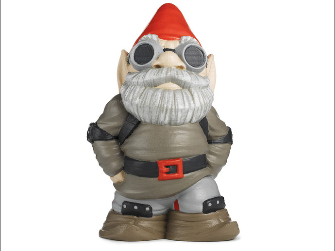 Makerbot Gnome By Makerbot Thingiverse