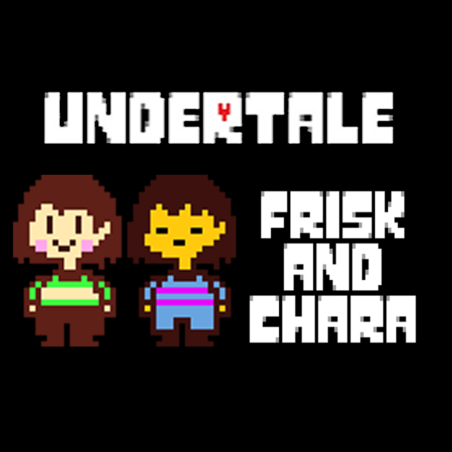 Frisk and Chara - Undertale by Kenesthor - Thingiverse
