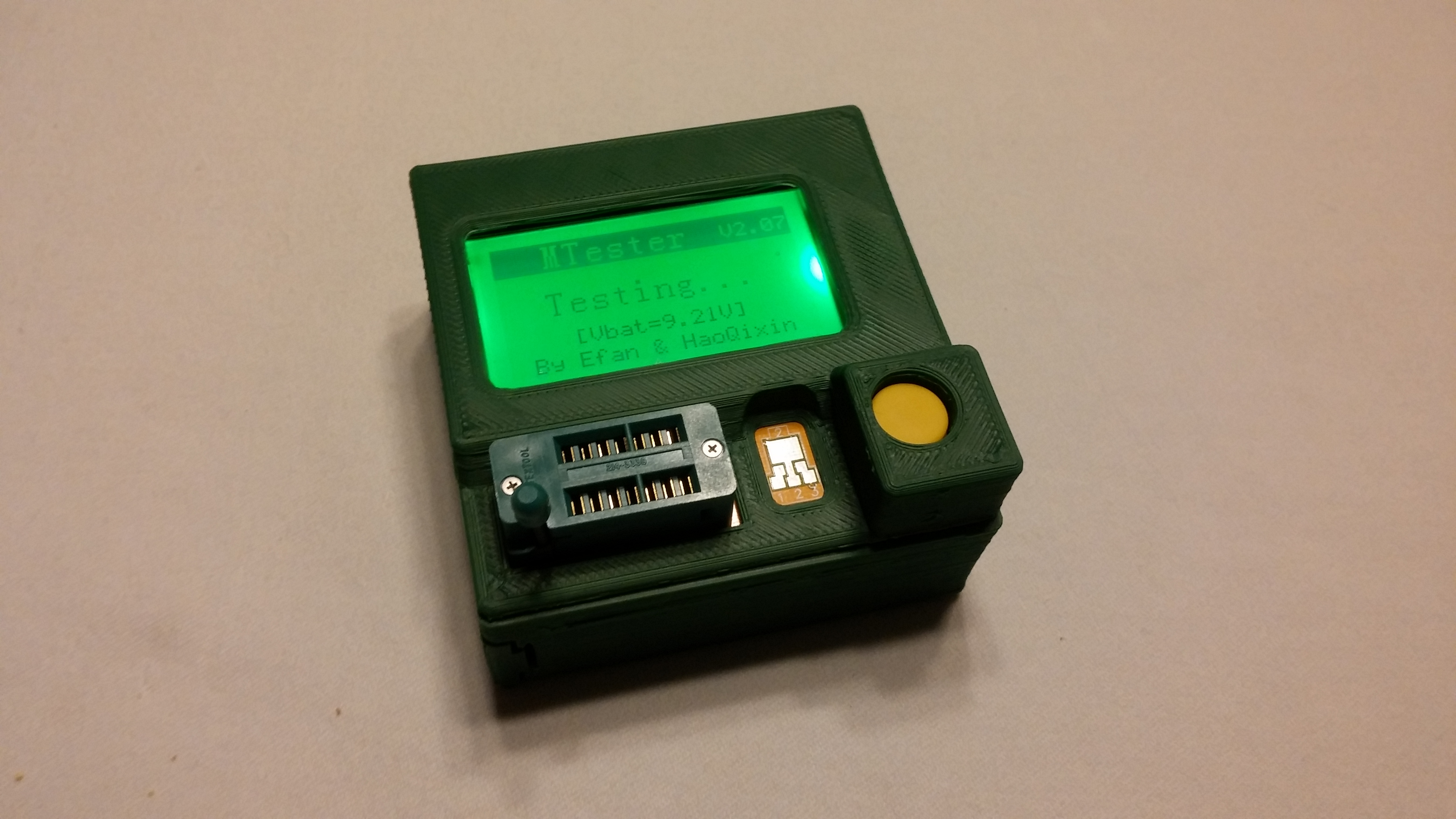 Case For Lcr Transistor Tester Qs2015 T3 By Prp Thingiverse Repair Aug 18 2016 View Original
