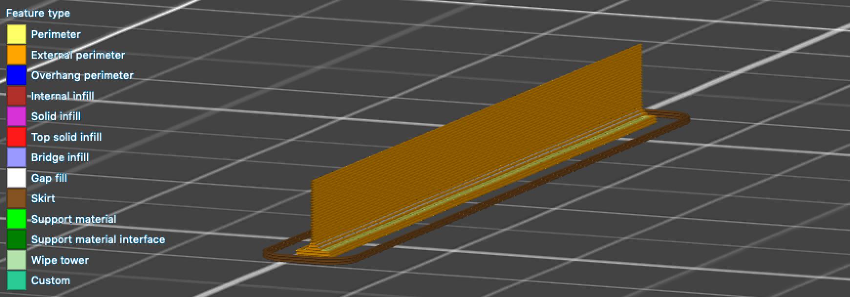 Slicing rubber blade