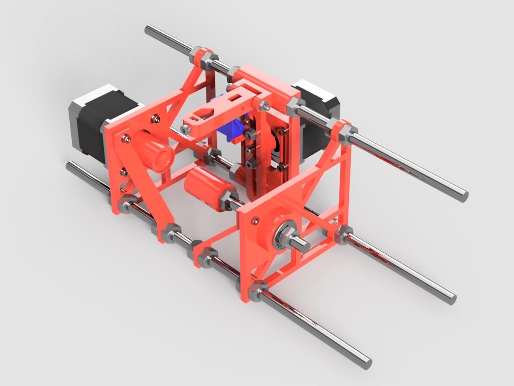 SphereBot redrawn by jsc - Thingiverse