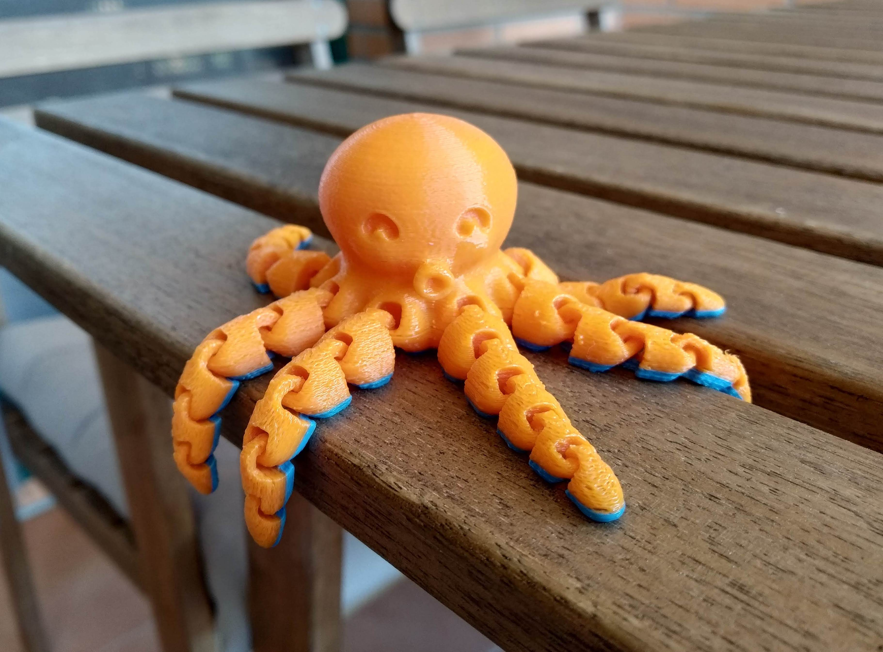 Cute Mini Octopus by McGybeer - Thingiverse