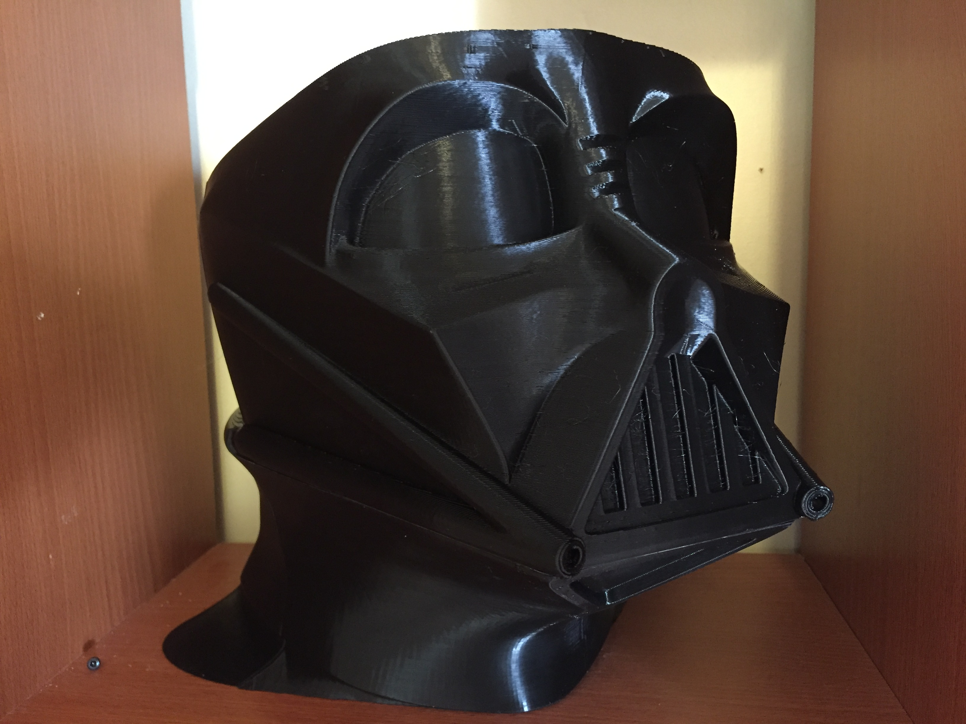 Full Size Darth Vader Helmet from Star Wars by Orcdoc