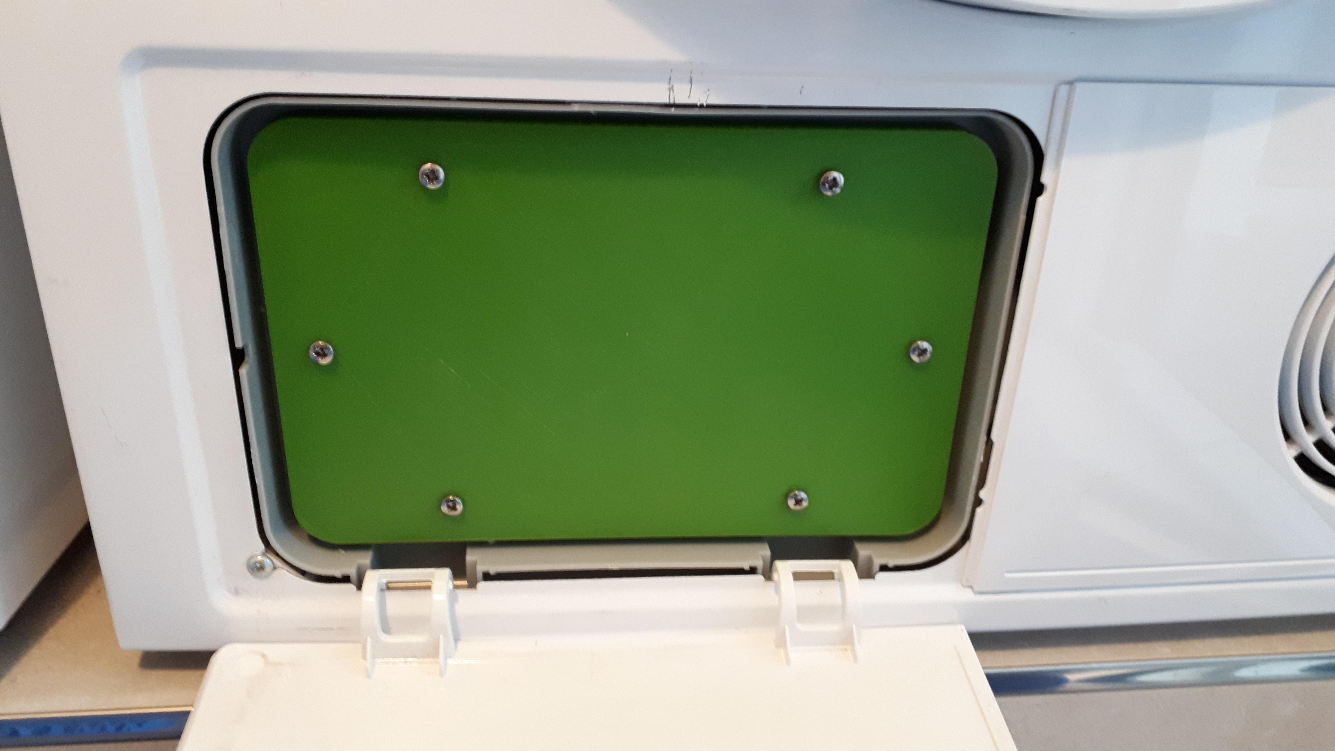 Maintenance Hatch For Siemens Iq 500 Heat Pump Dryer By Poldi1001