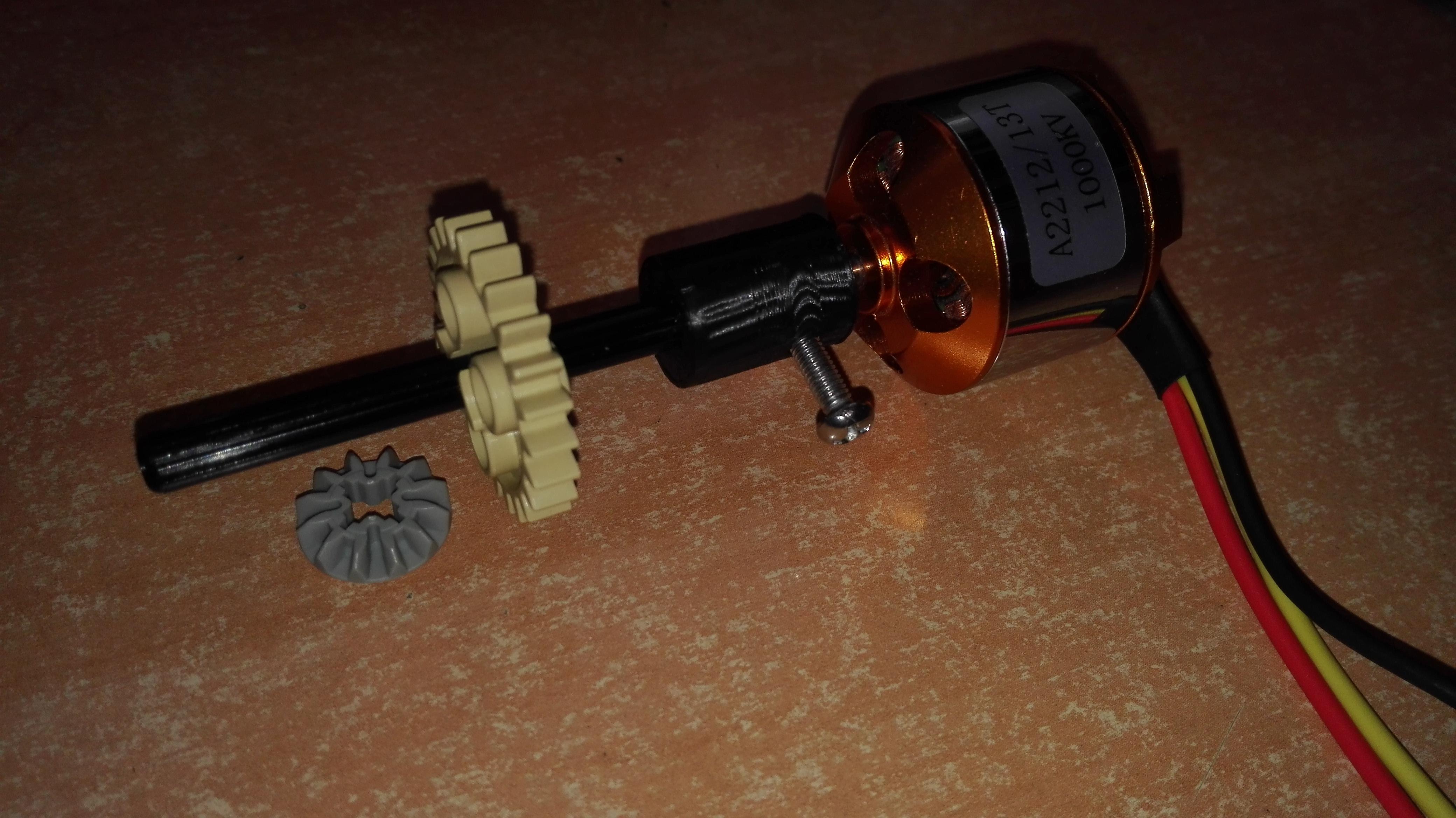 brushless lego technic adapter by juanxo thingiverse rh thingiverse com