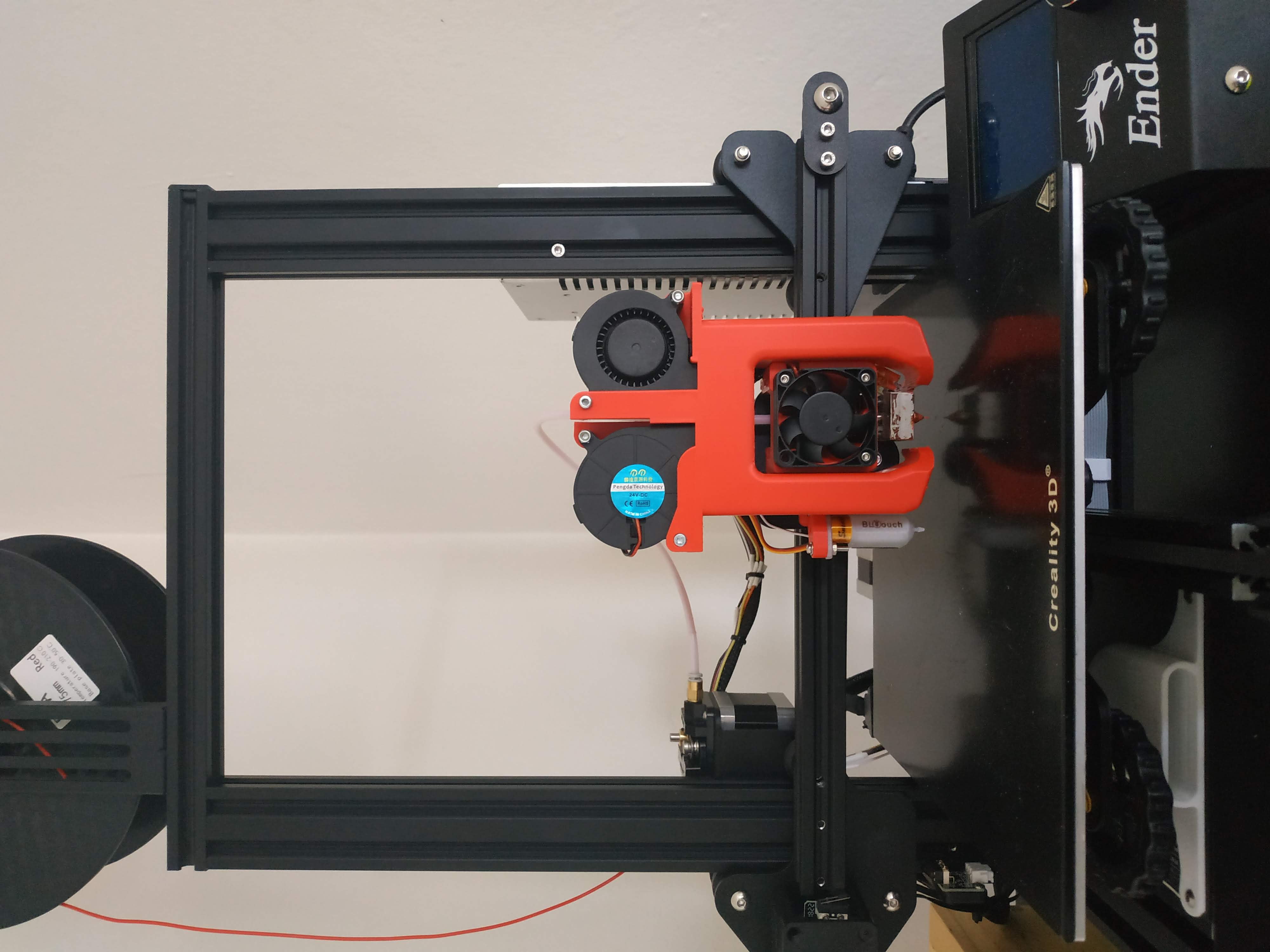 Ender 3 - BLTouch guide installation by ScienceOnThingiverse