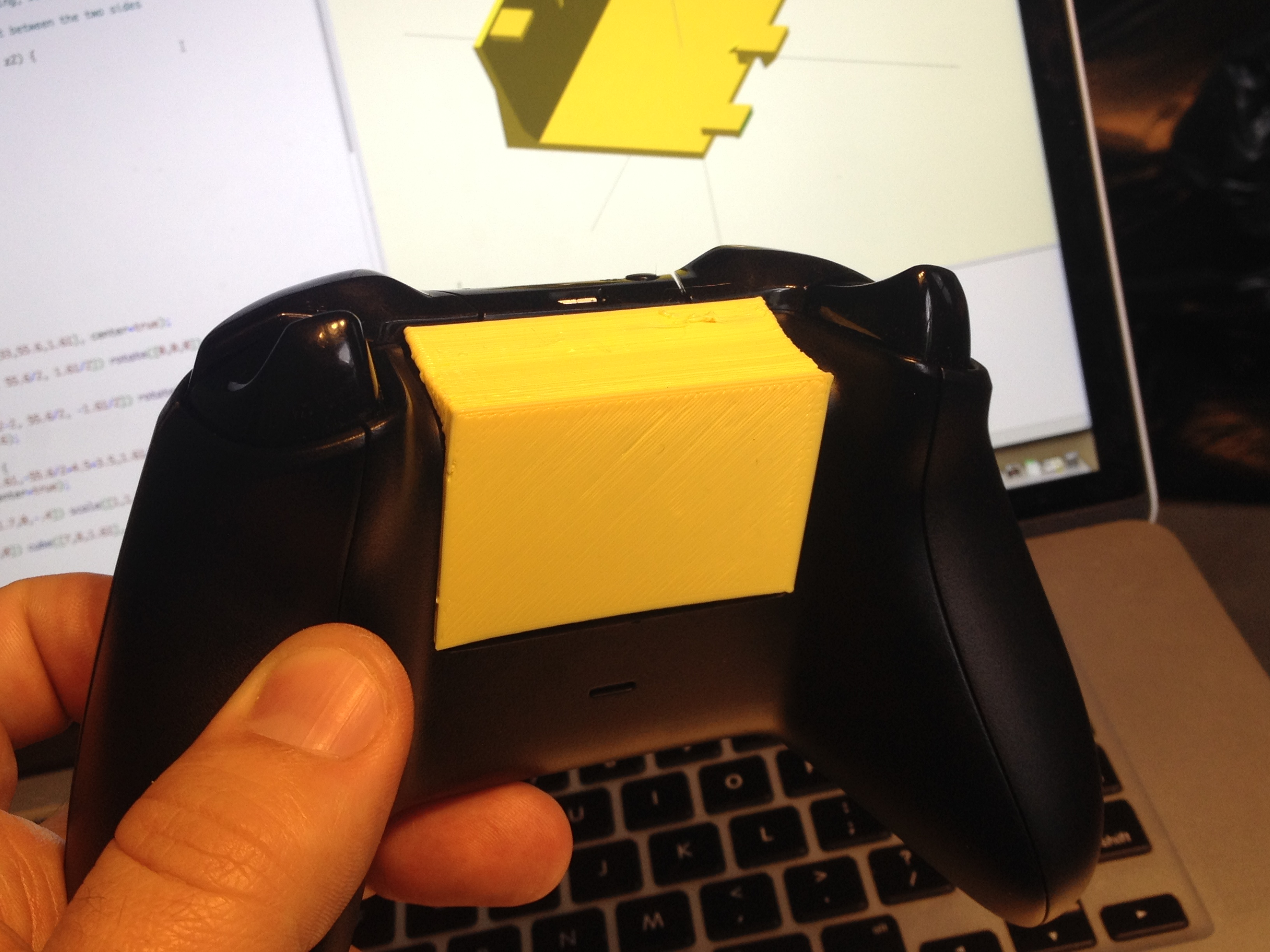 cheap for discount eb21a 171b7 Xbox One Battery Cover replacement by jkeegan - Thingiverse