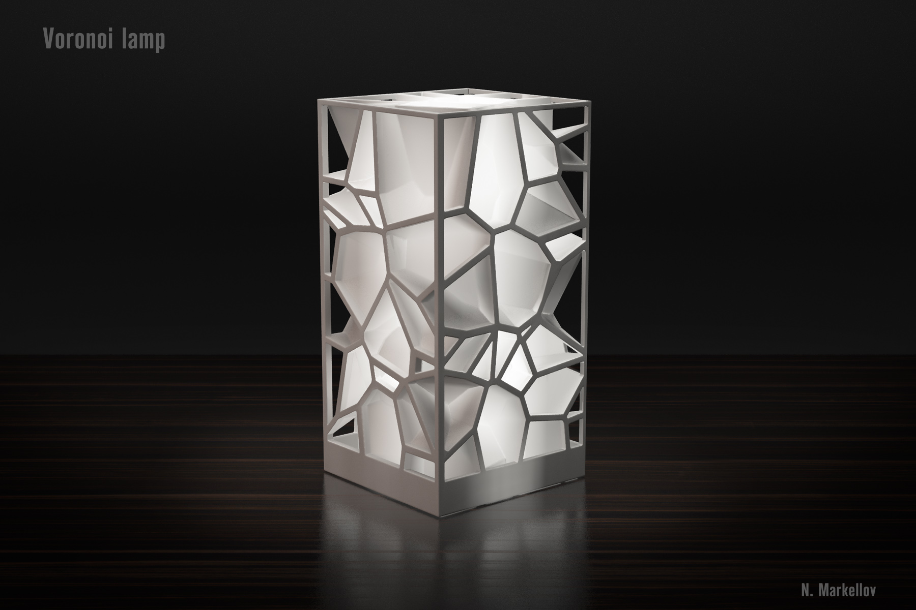 Voronoi lamp by Markellov - Thingiverse