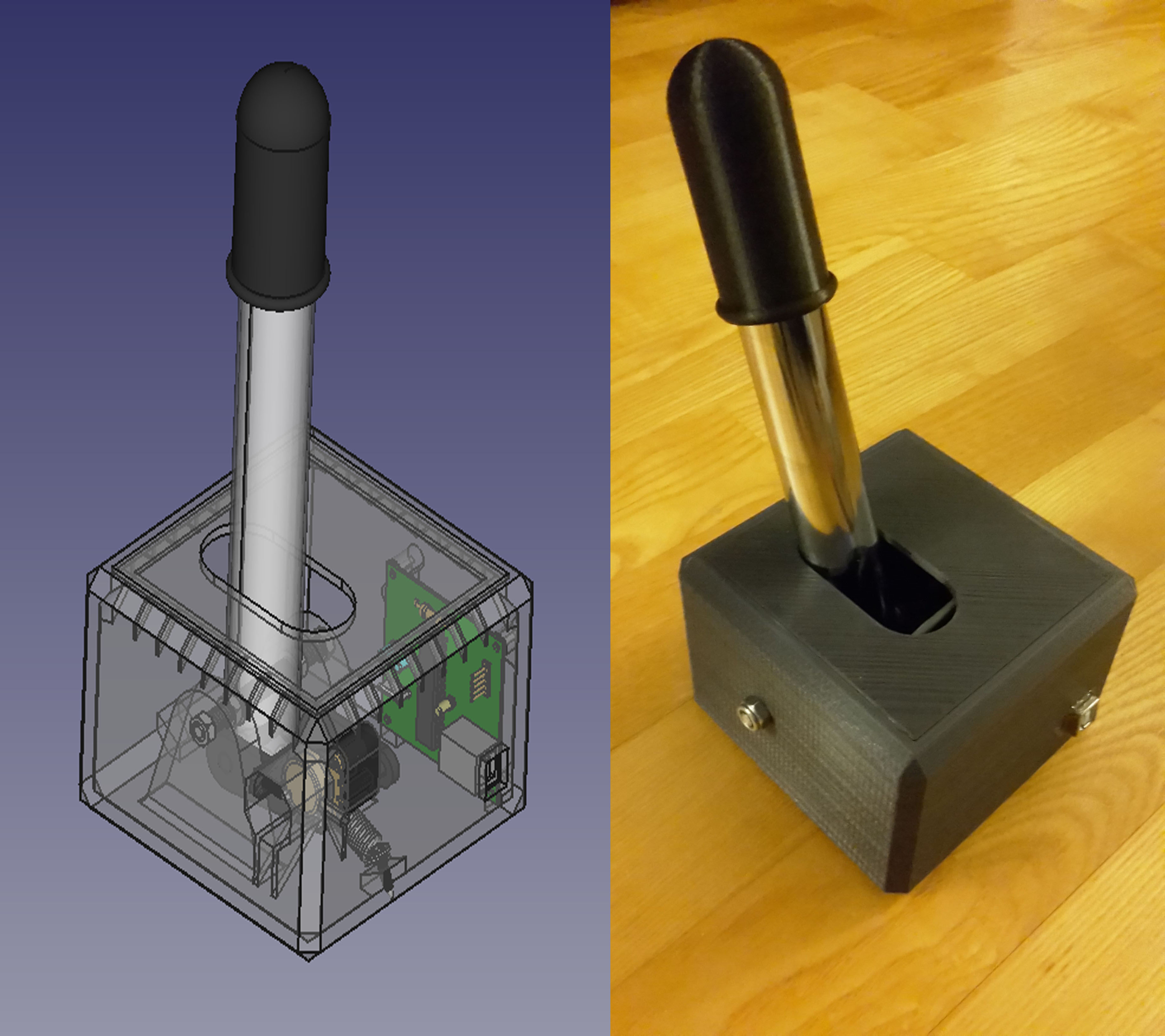 Handbrake for Sim Racing by Mape - Thingiverse