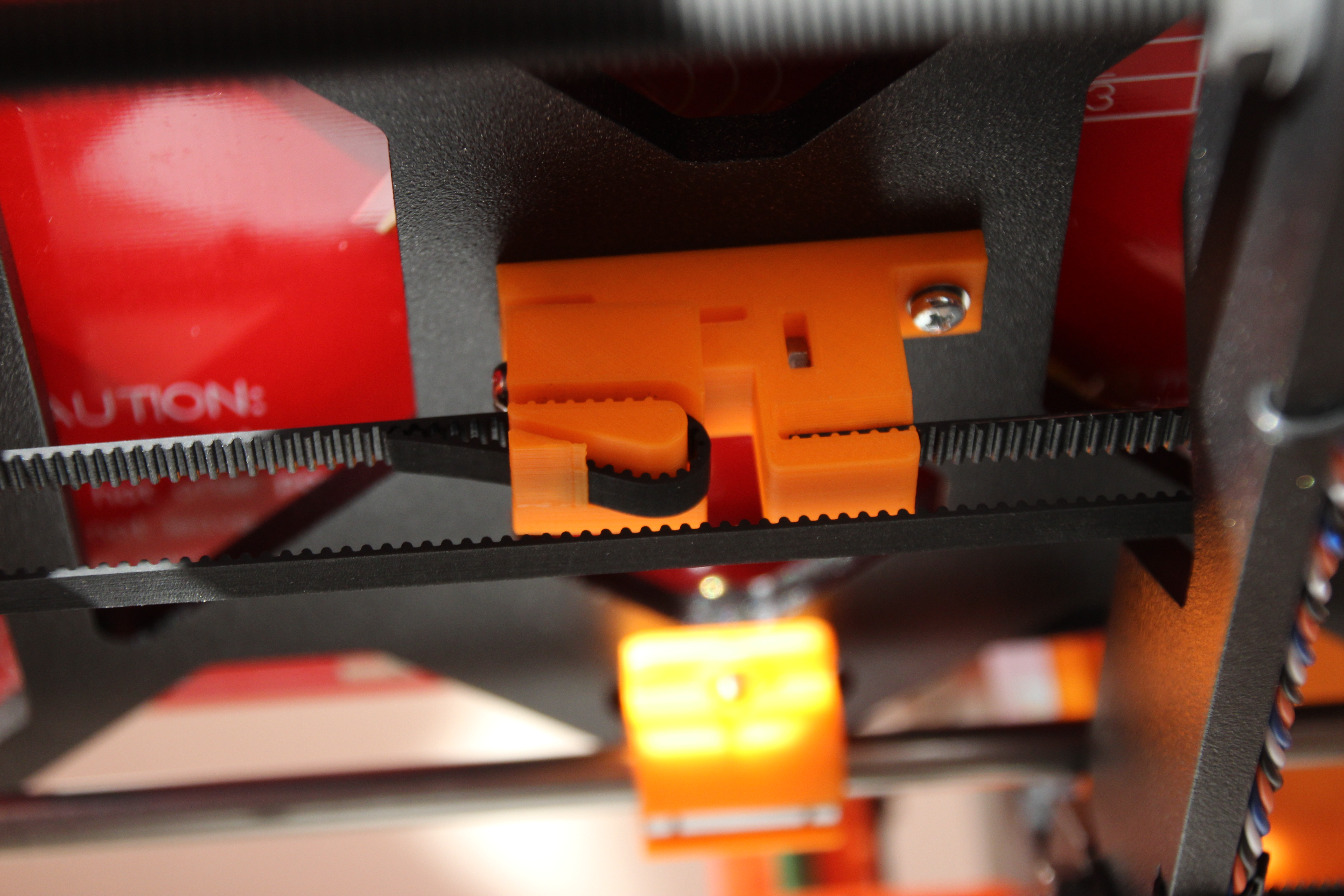Prusa i3 MK1 Y-axis belt holder by parkis - Thingiverse