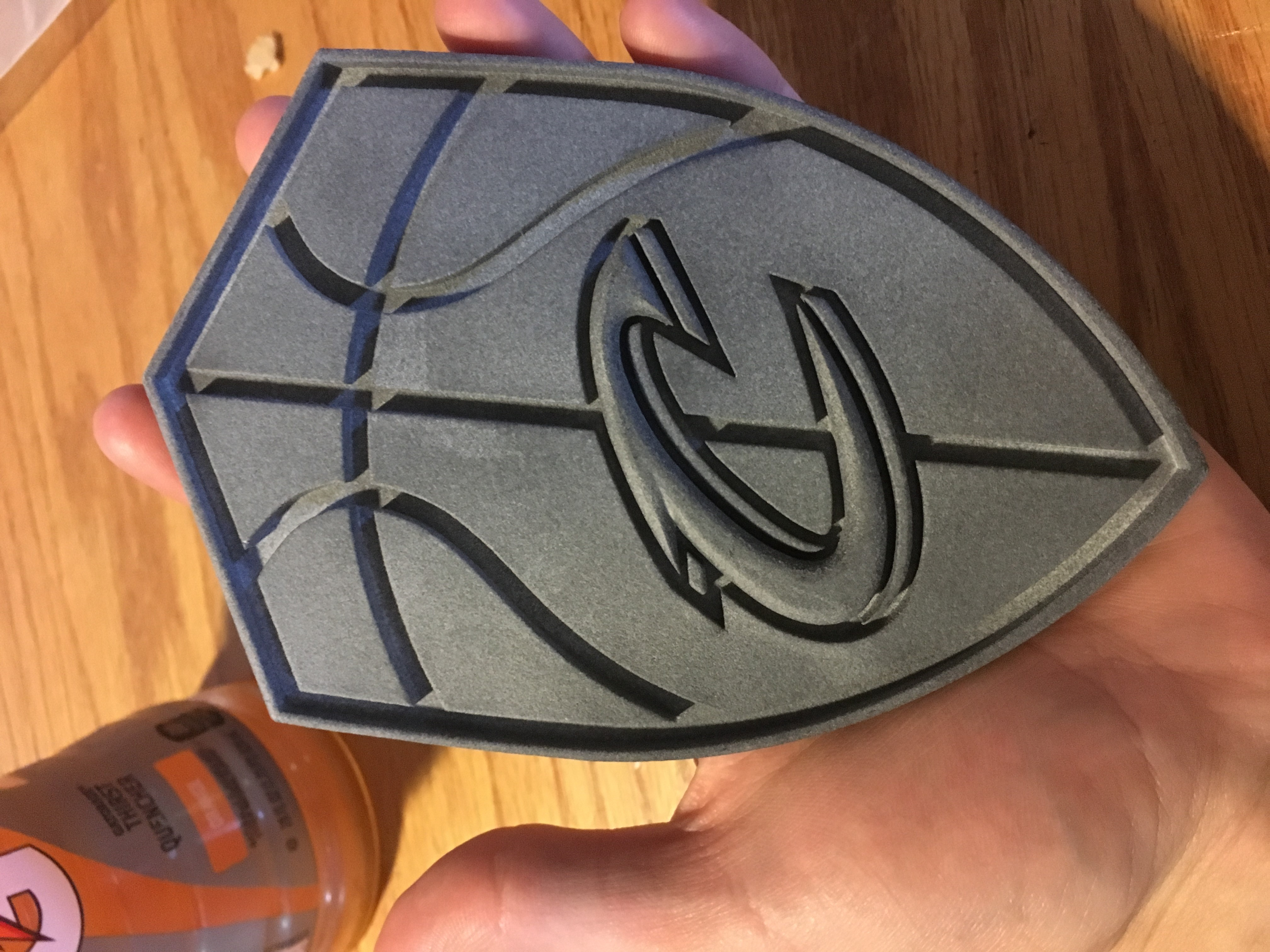 Cleveland Cavaliers Shield Logo By Mjlbj2 Thingiverse