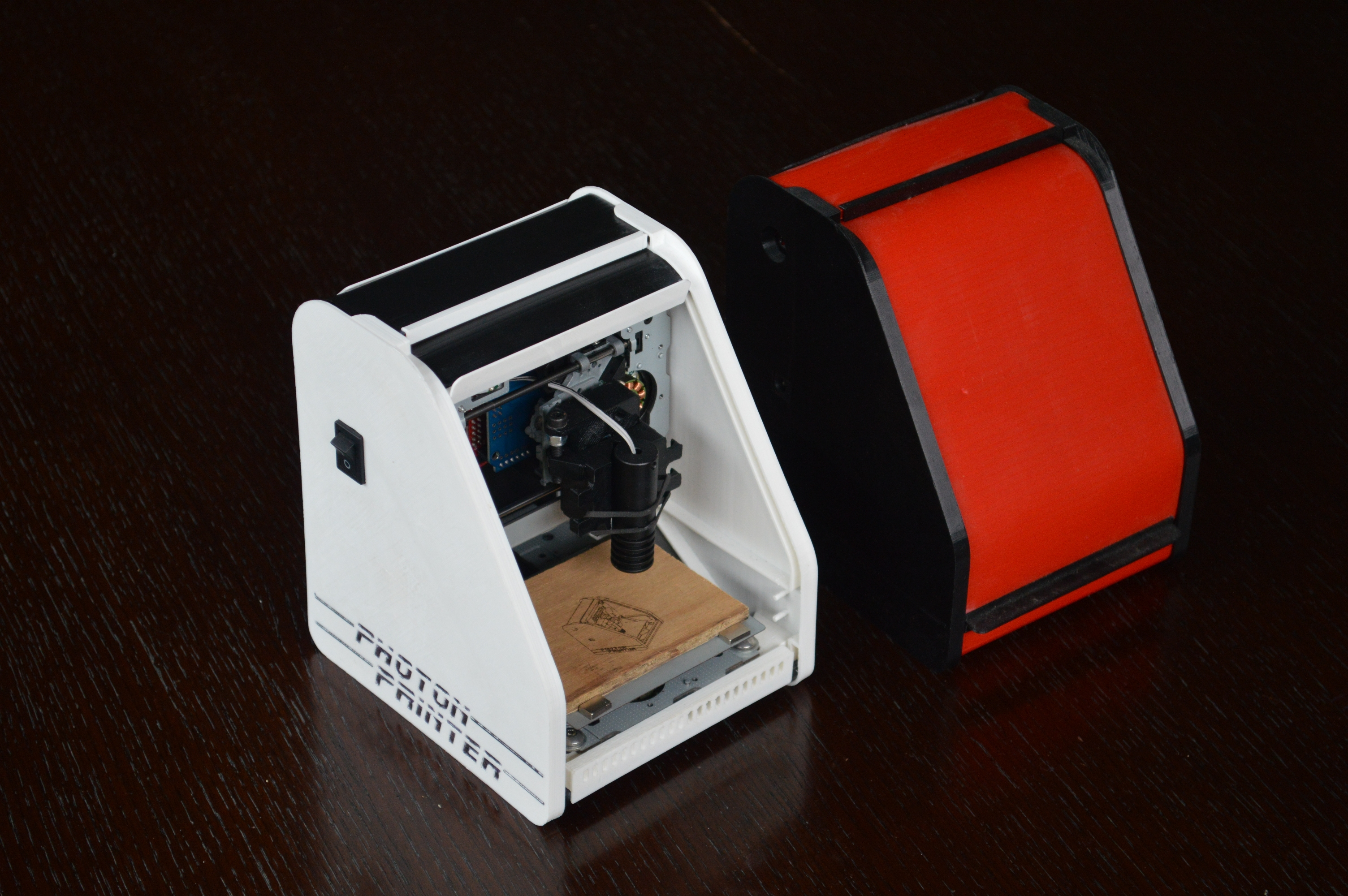 Photon Printer - Micro Laser Engraver by Isolt - Thingiverse