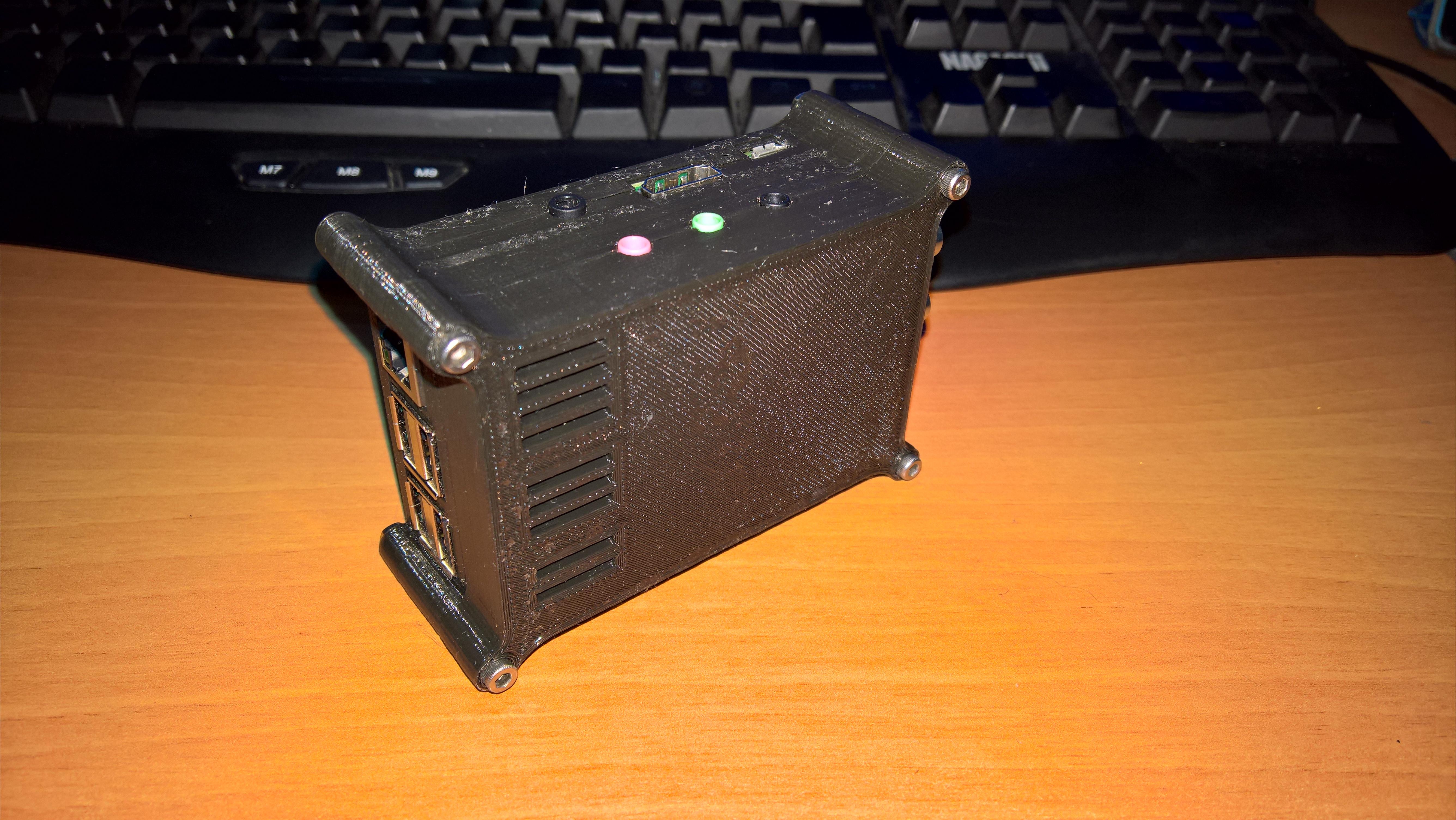 Raspberry Pi Cirrus Logic Audio Card Case by Electrico