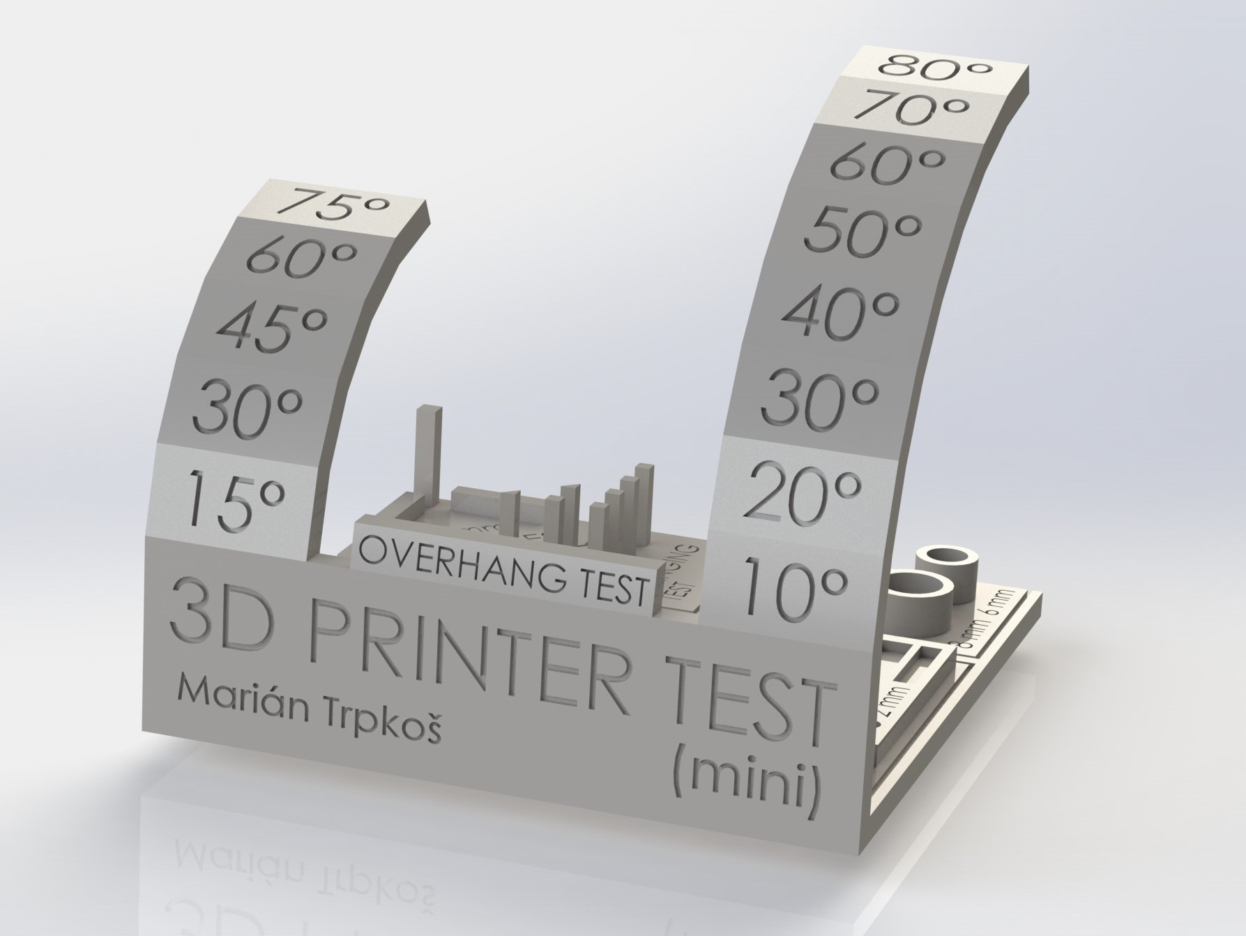 MINI* All In One 3D printer test by majda107 - Thingiverse