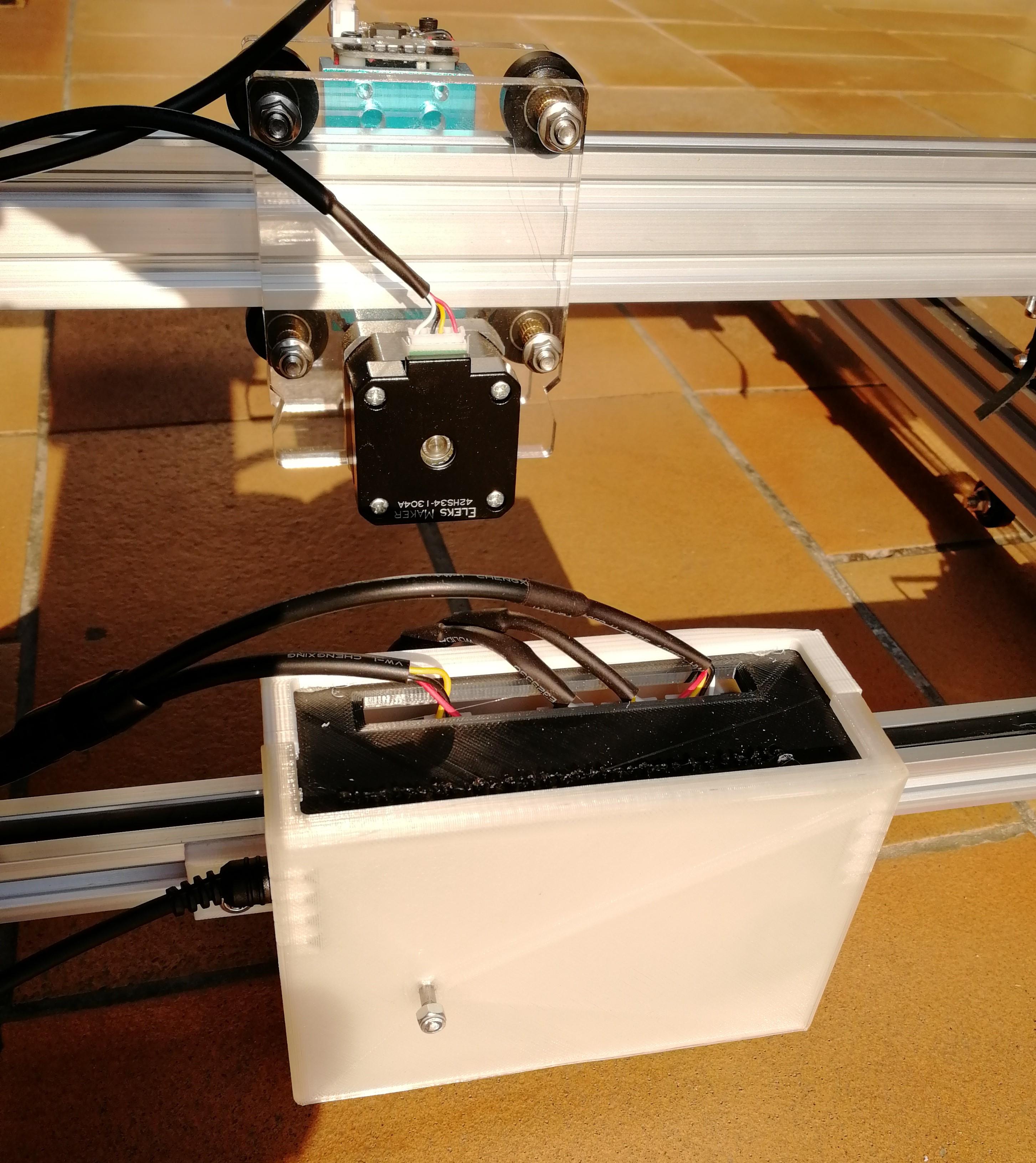EleksMaker laser Bluetooth box by fbd38 - Thingiverse