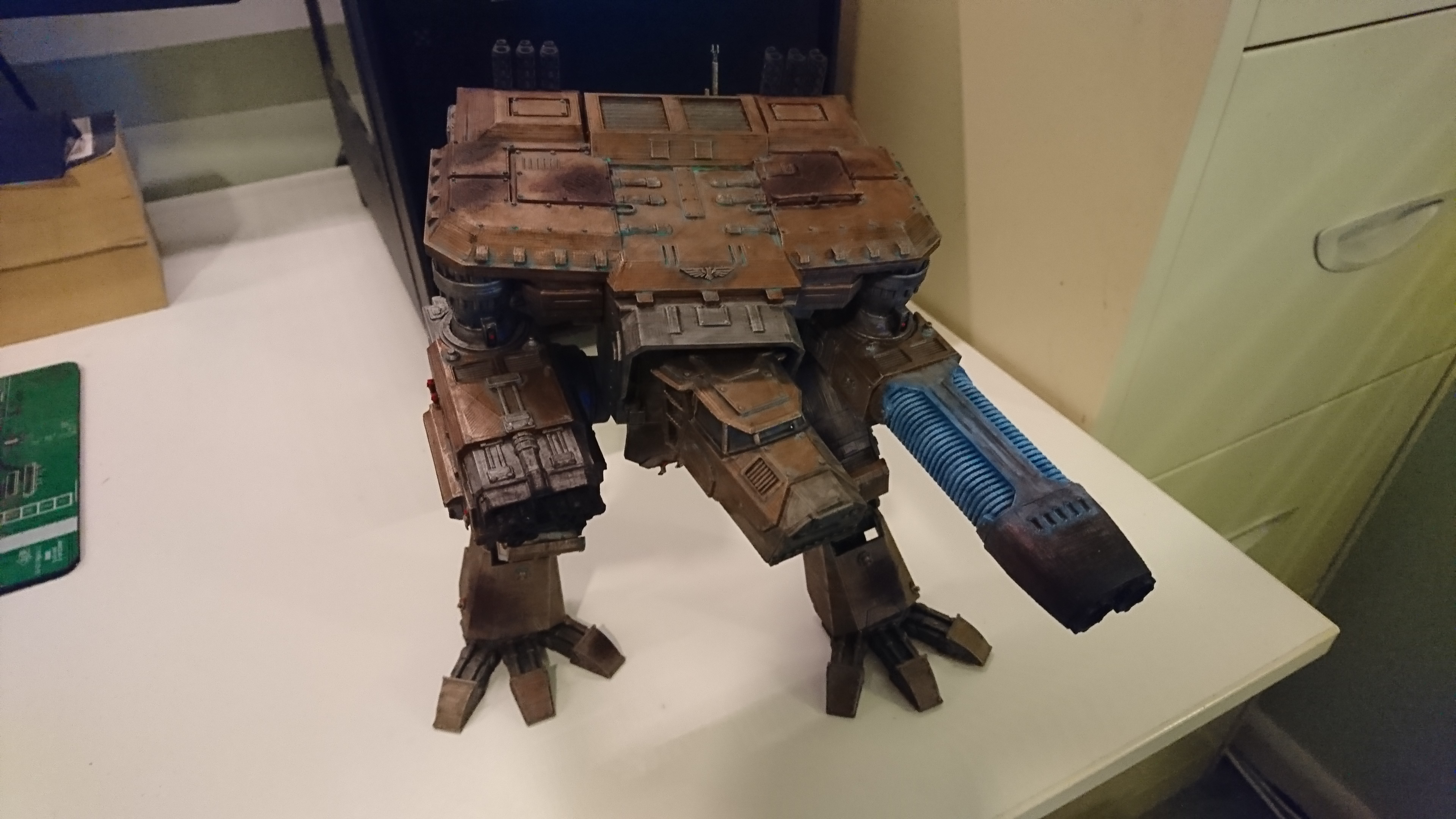 Wardog Titan Remix by VagueDirector - Thingiverse