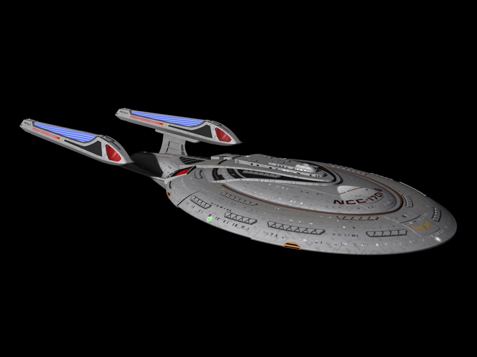 Star Trek - The Next Generation Enterprise-E NCC-1701-E by