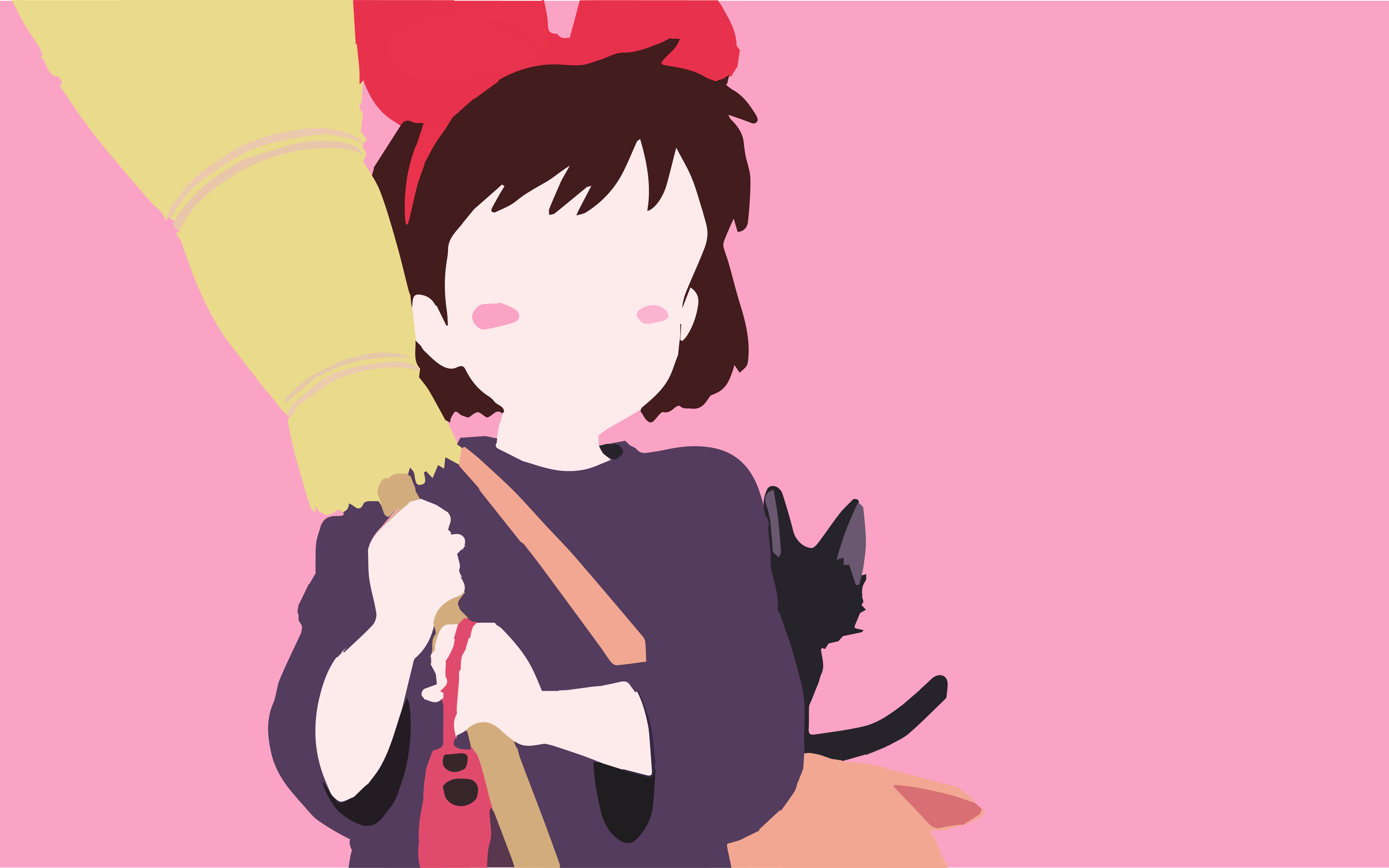 Kikis Delivery Service Minimalist By Yuyuy75 Aug 7 2017 View Original