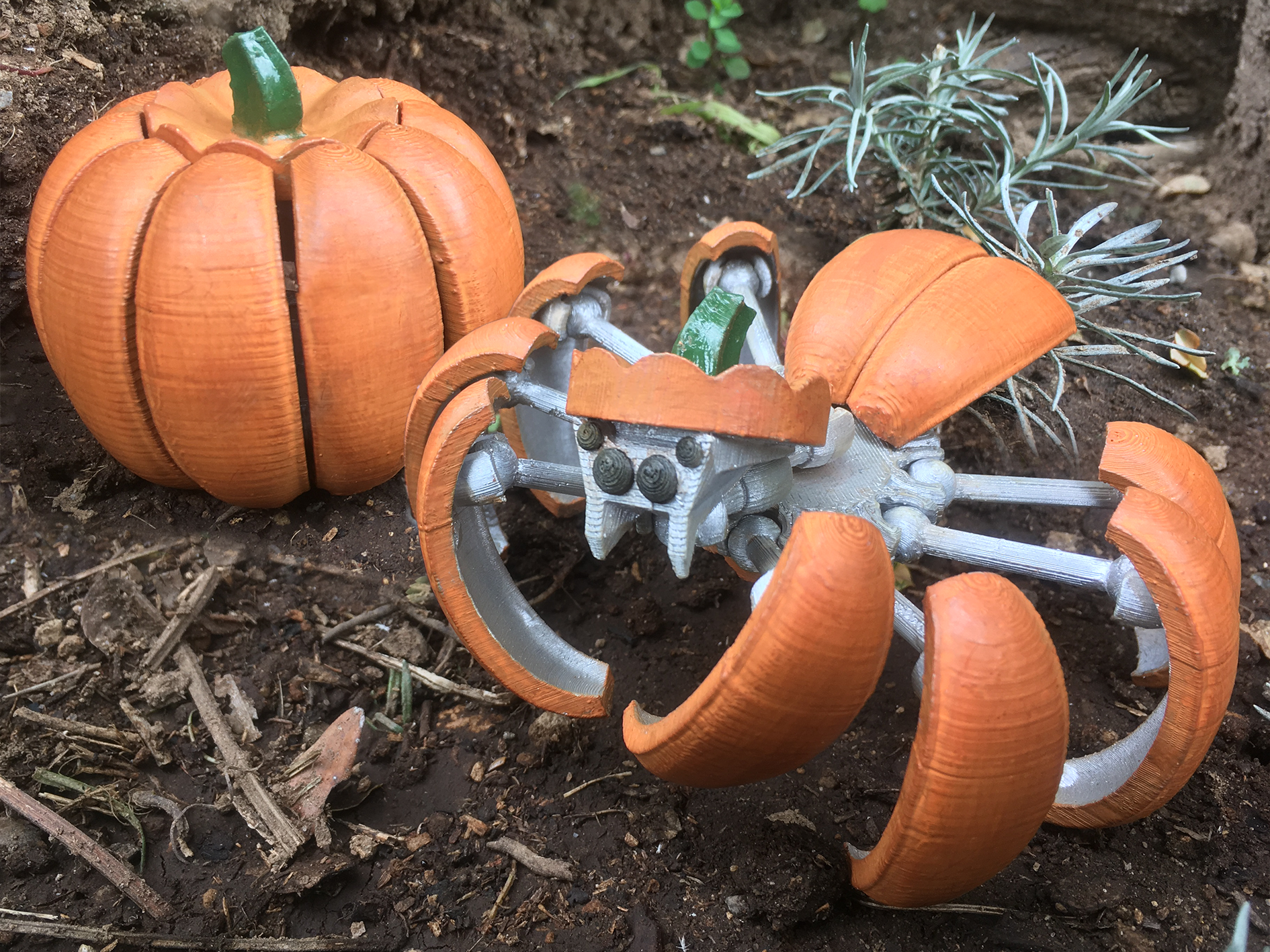 Halloween Pumpkin Spider Transformer By Megawillbot Oct 1, 2018 View