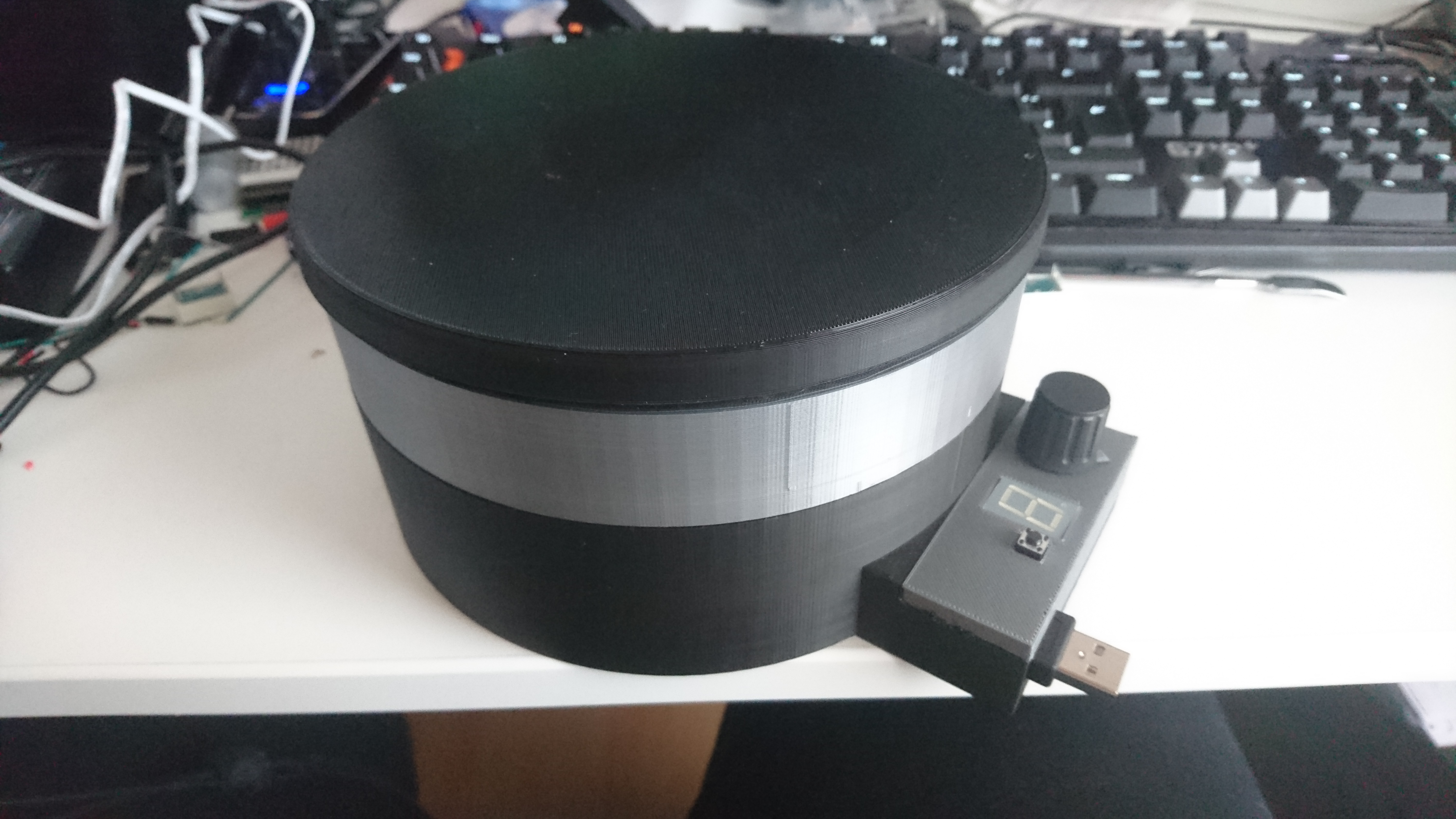 Arduino based Turntable by MisterIXI - Thingiverse