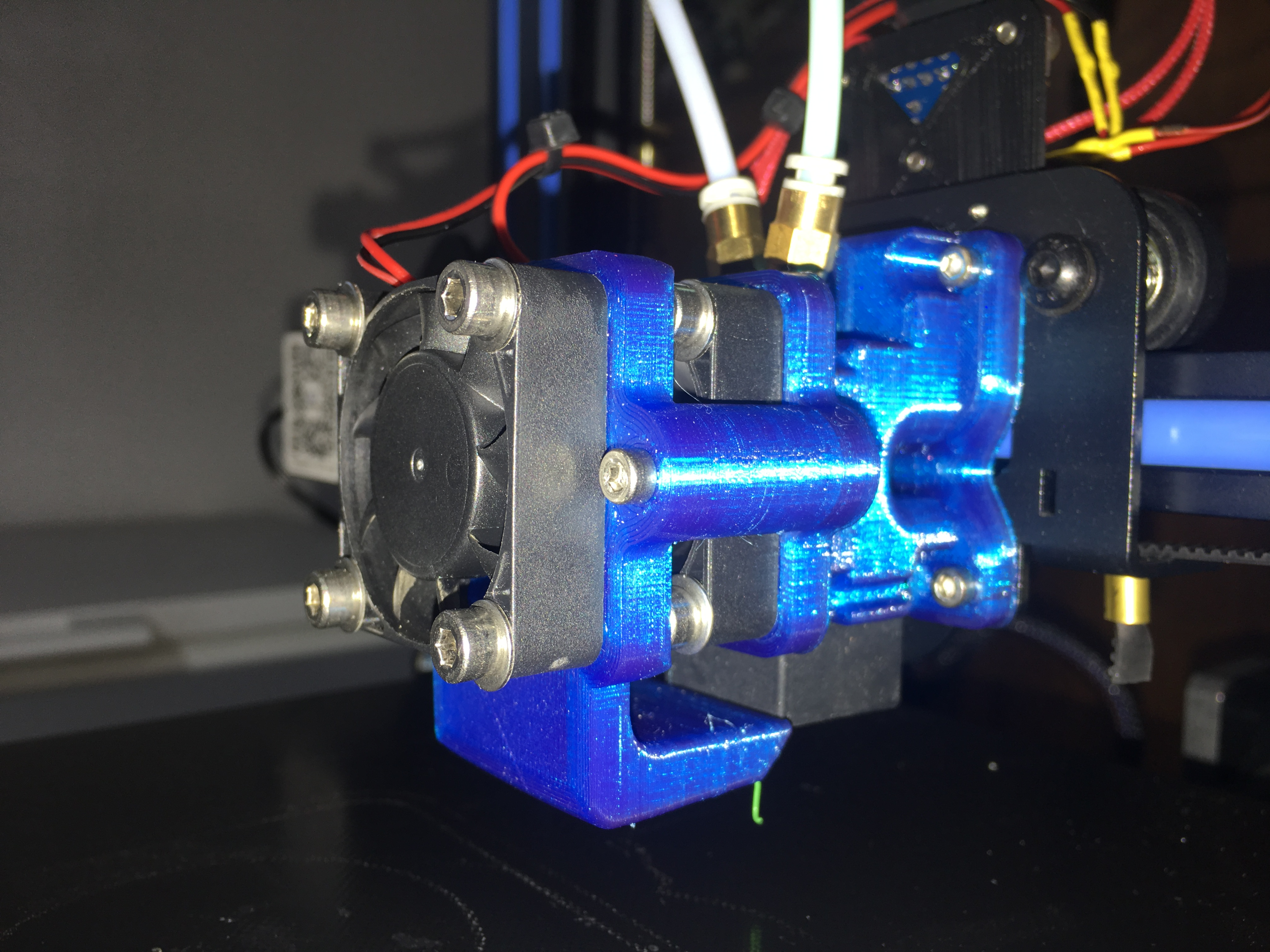 BigMac MKII - Geeetech A20M / A10M cyclop hotend adapter by