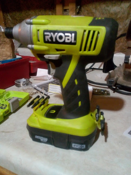 Ryobi One+ Rear Bit Holder for Impact Driver & Drill by