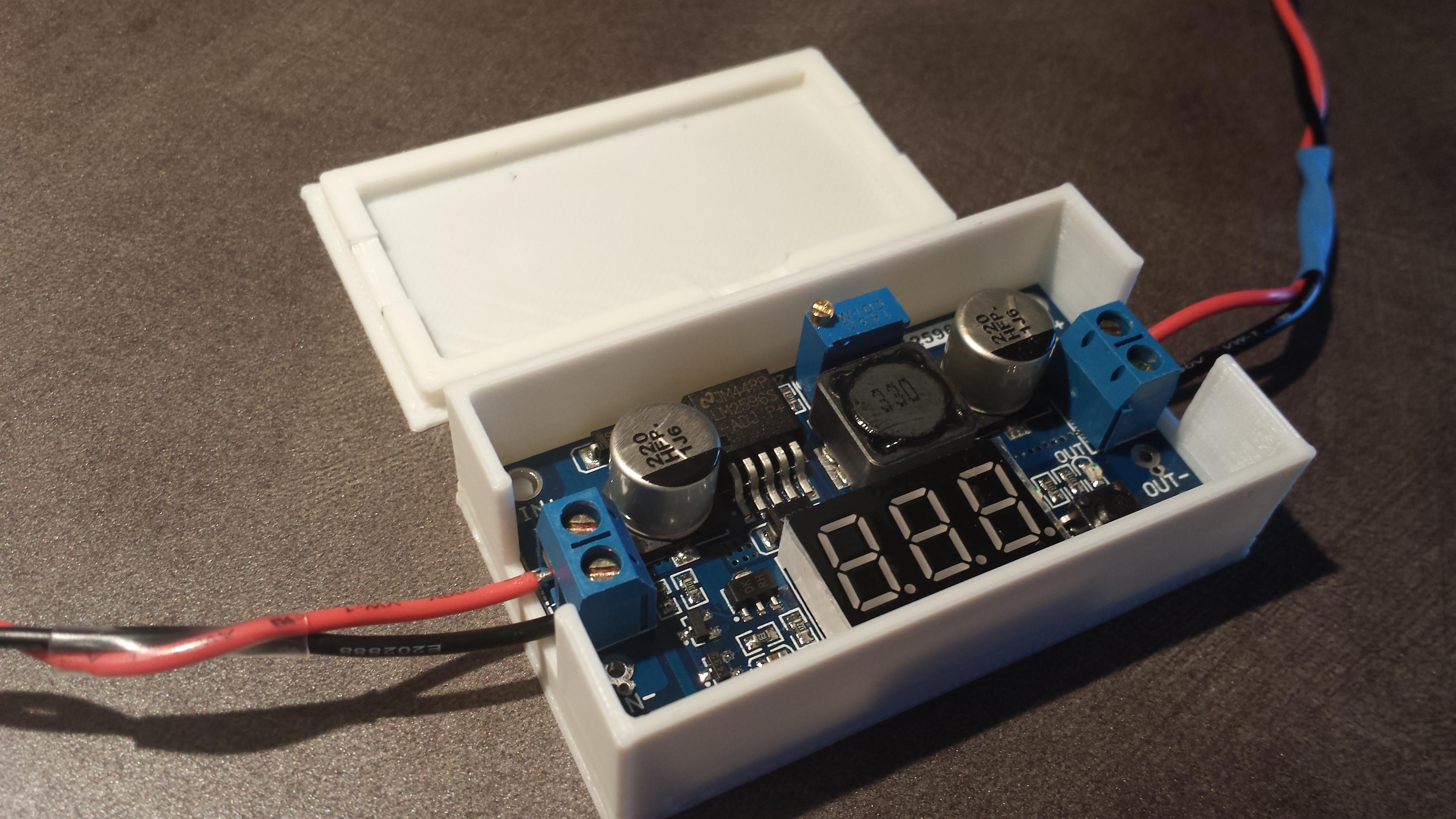 Case For Adjustable Voltage Regulator By Atomicflx Thingiverse Jul 22 2015 View Original