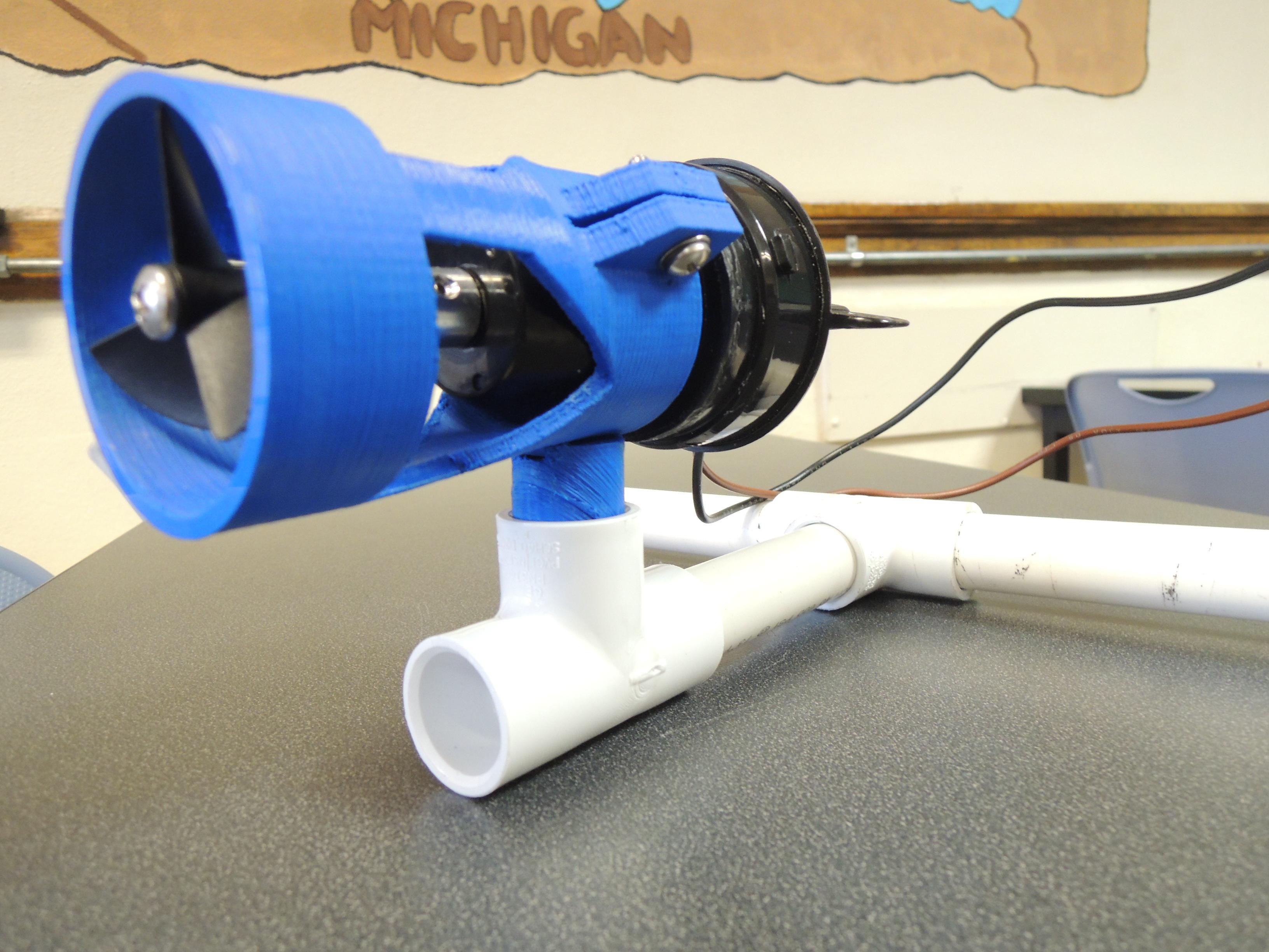 ROV Bilge Pump Shroud and Mount by DollarBaySOAR - Thingiverse