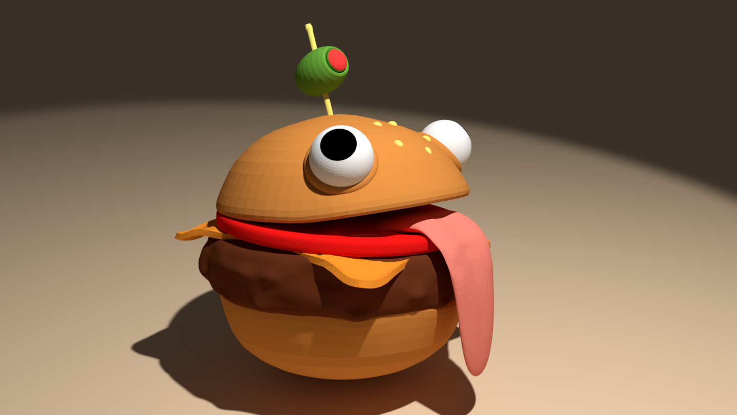 Durr Burger (Fortnite) by Quinventor - Thingiverse