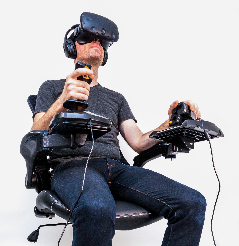 elite dangerous flight sim cockpit joystick chair mounts by