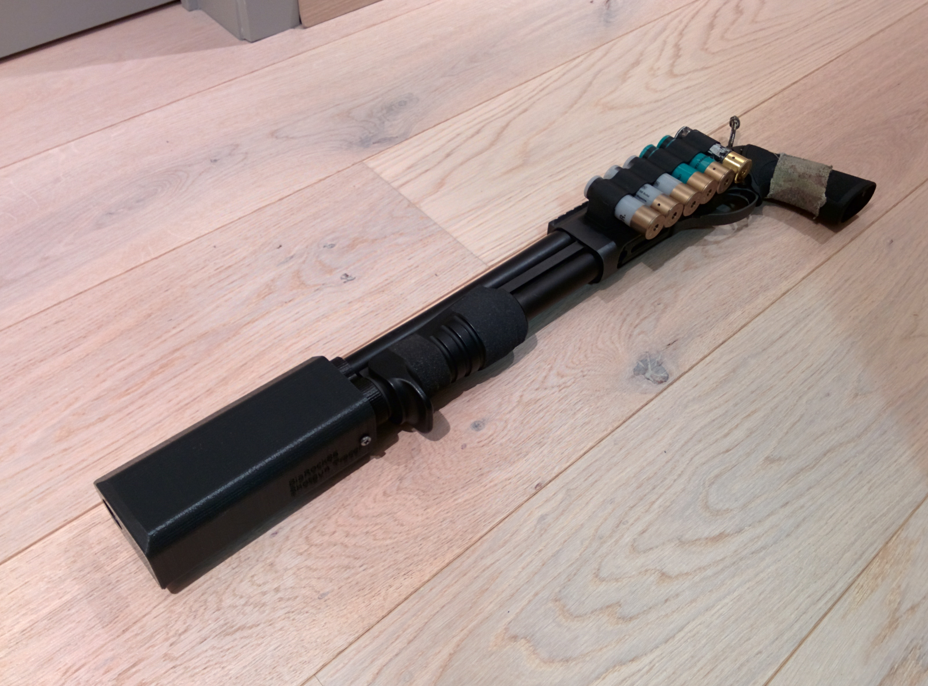 Airsoft M870 Breacher Tracer by BlaRock86 - Thingiverse