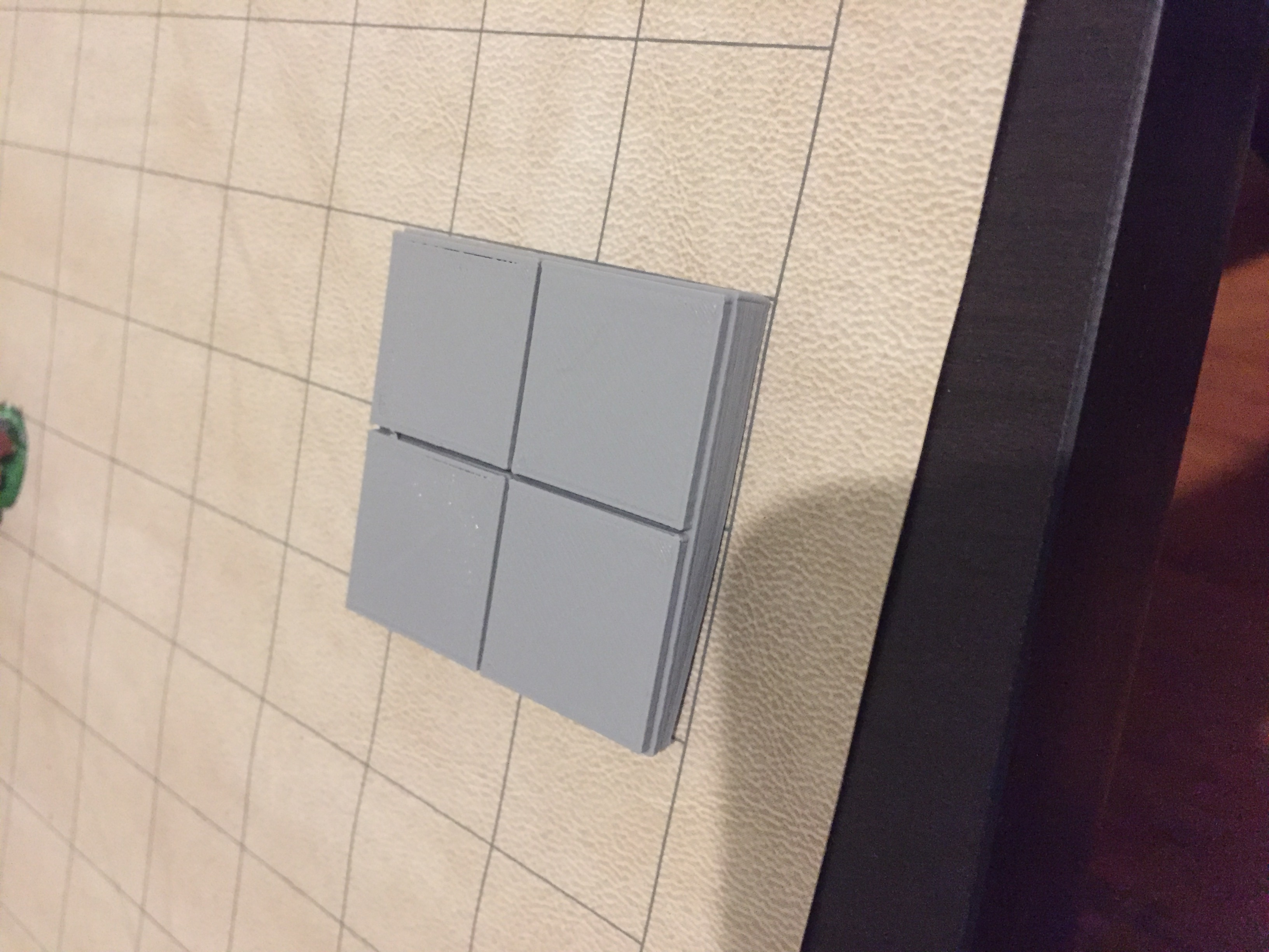 2x2 Dungeon Floor Tile By Gxrobb Thingiverse