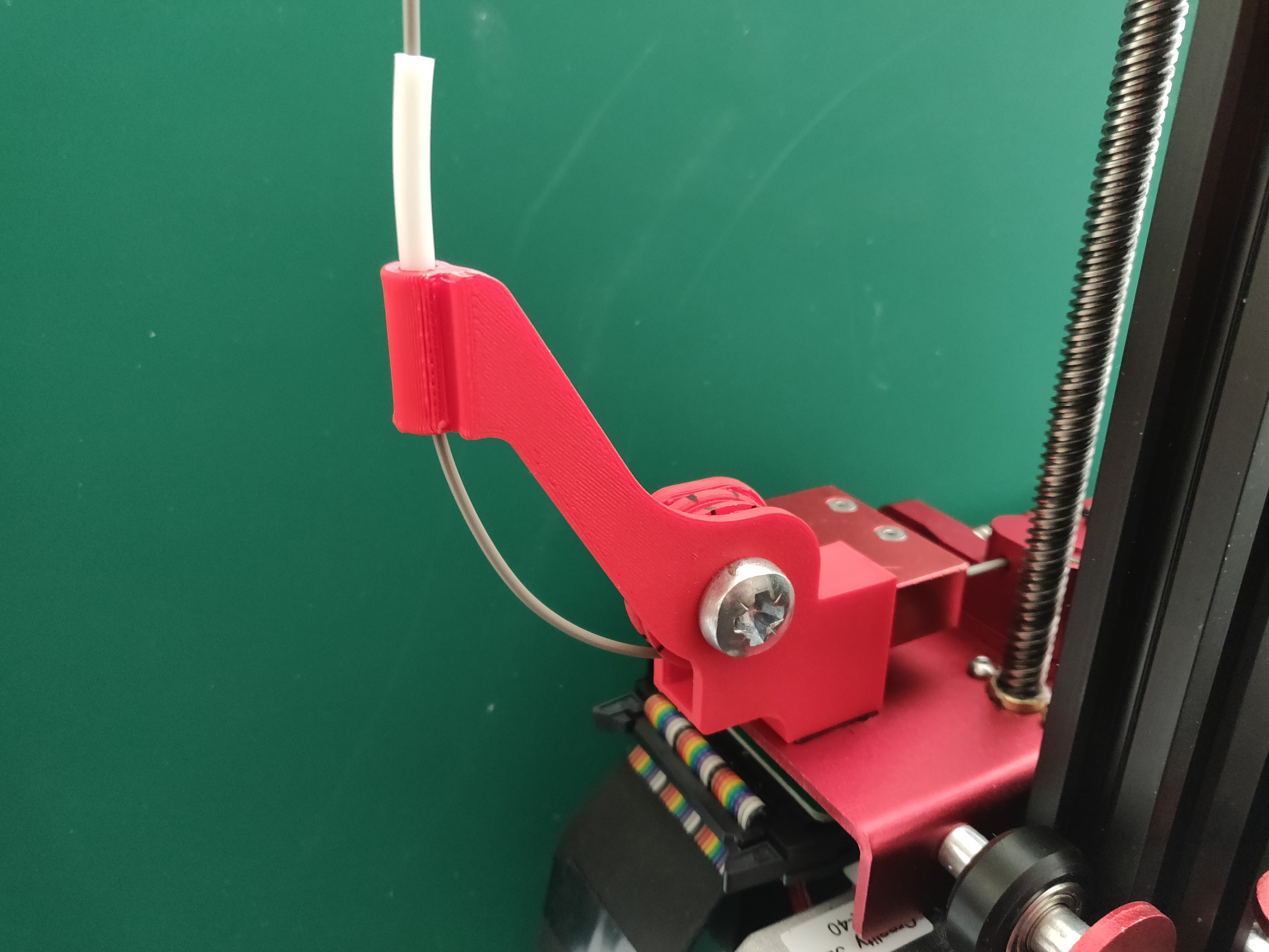 Creality CR10S-Pro filament guide by Nitec0re - Thingiverse