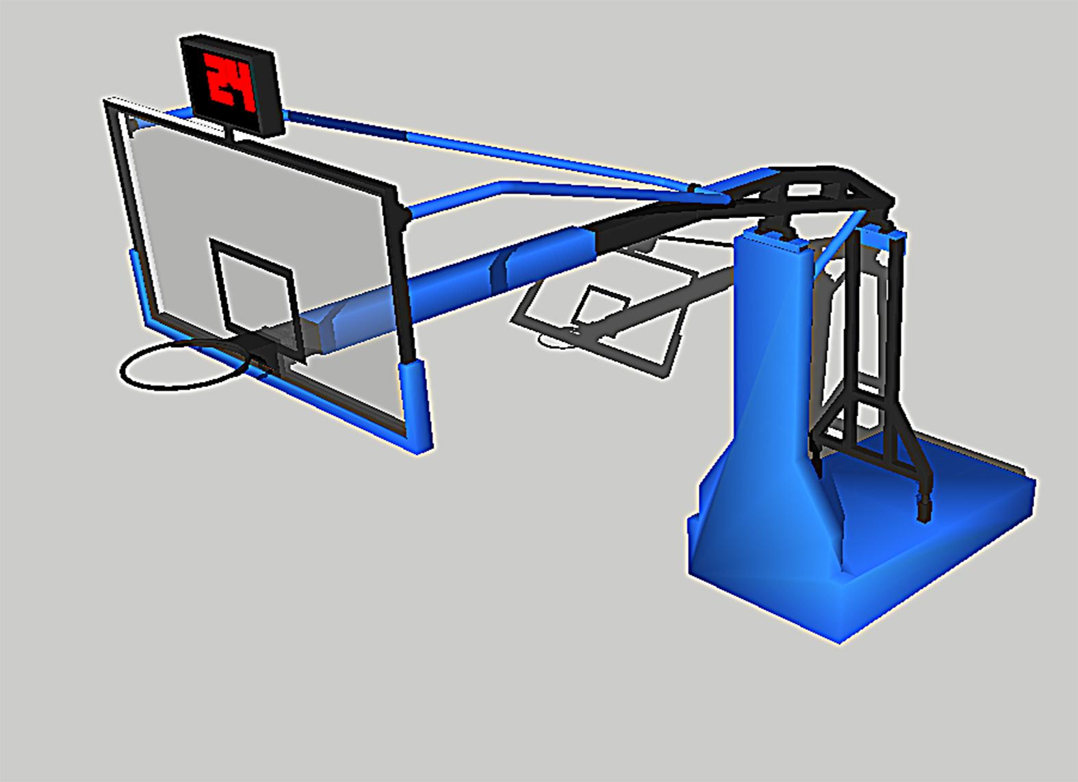 Basketball Hoop By Fp Creator Thingiverse Diagram Feb 27 2016 View Original