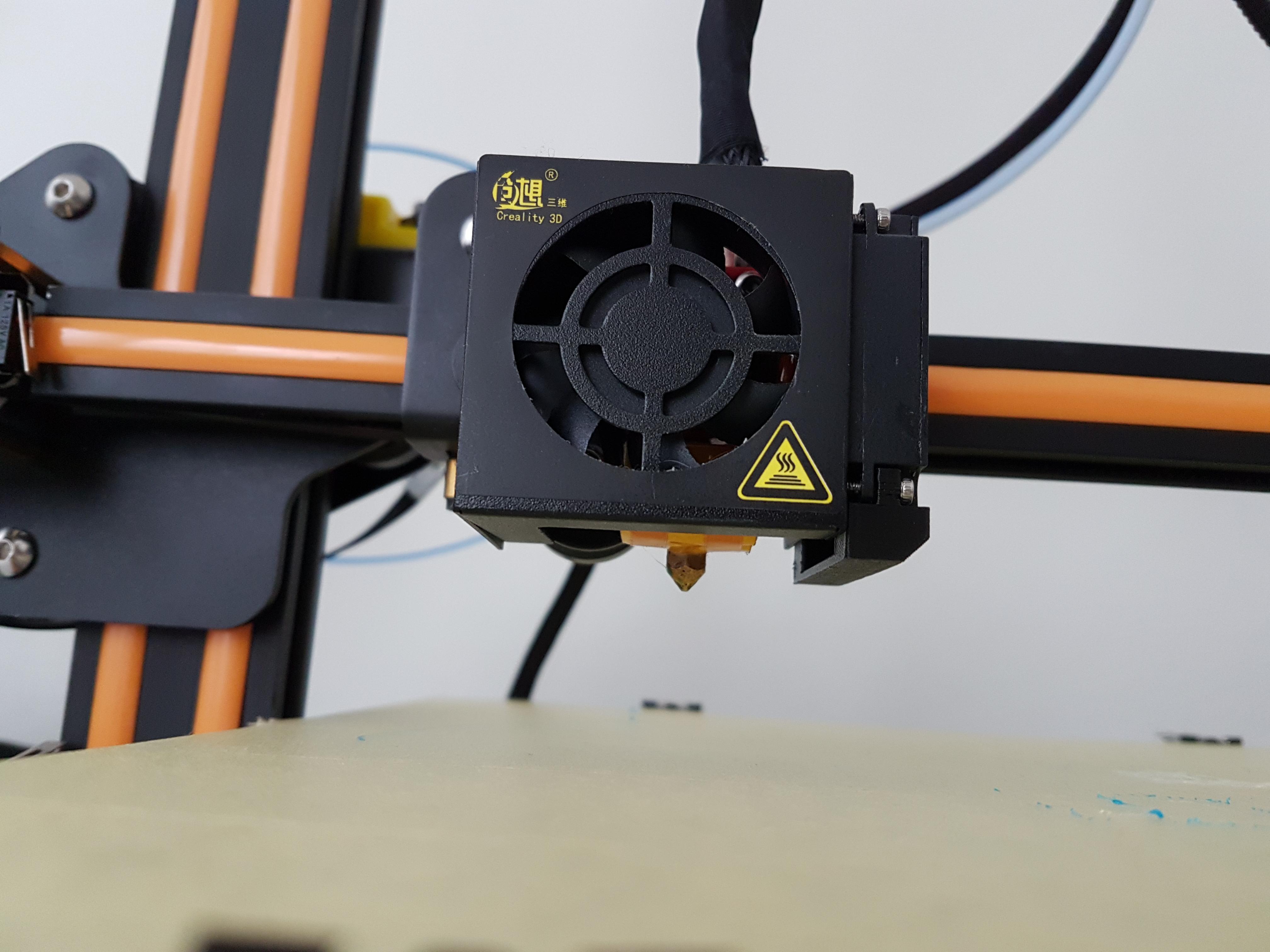 CR-10 duct fan mod by Nexi-Tech - Thingiverse