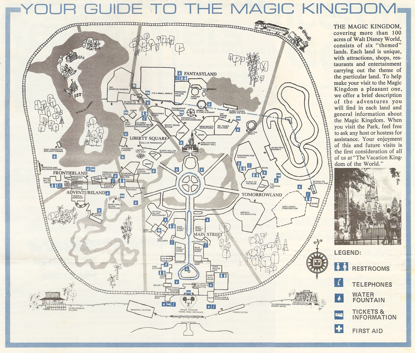 Magic Kingdom Blueprints