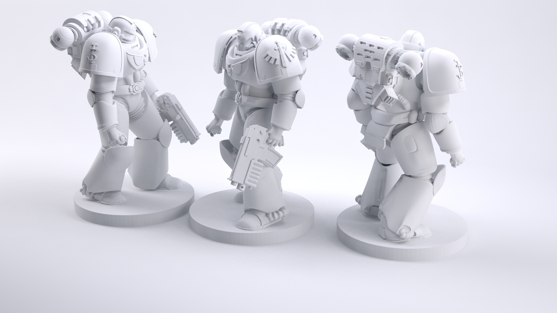 Warhammer Space Marine by 660 - Thingiverse