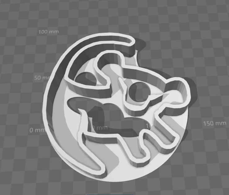 Simba Cookie Cutter Lion King By Johnnypsycho Thingiverse