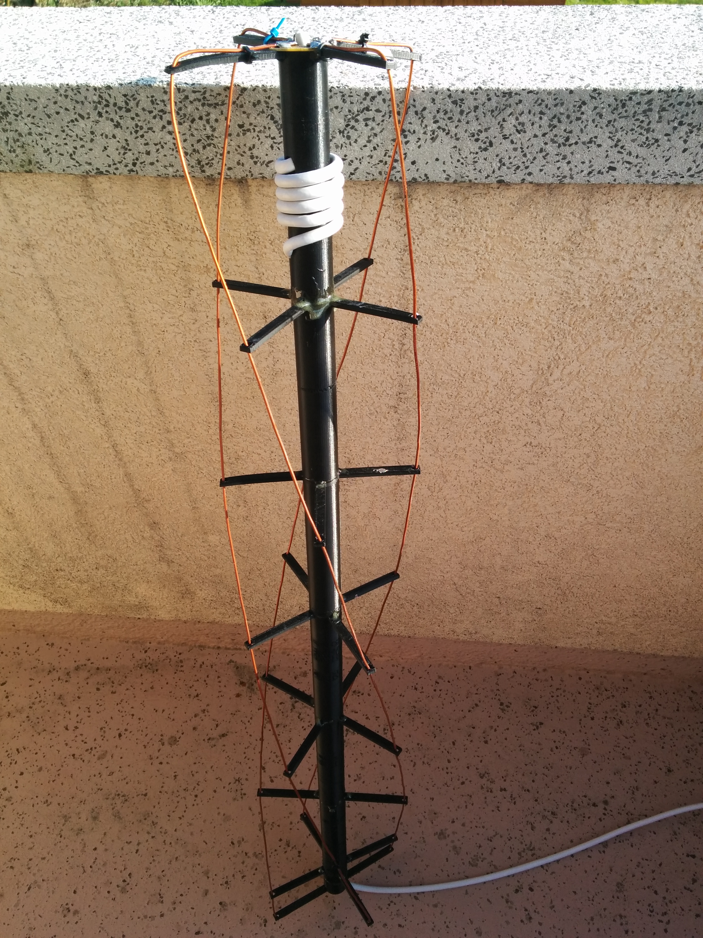 QFH 137MHz Antenna by SynarK - Thingiverse
