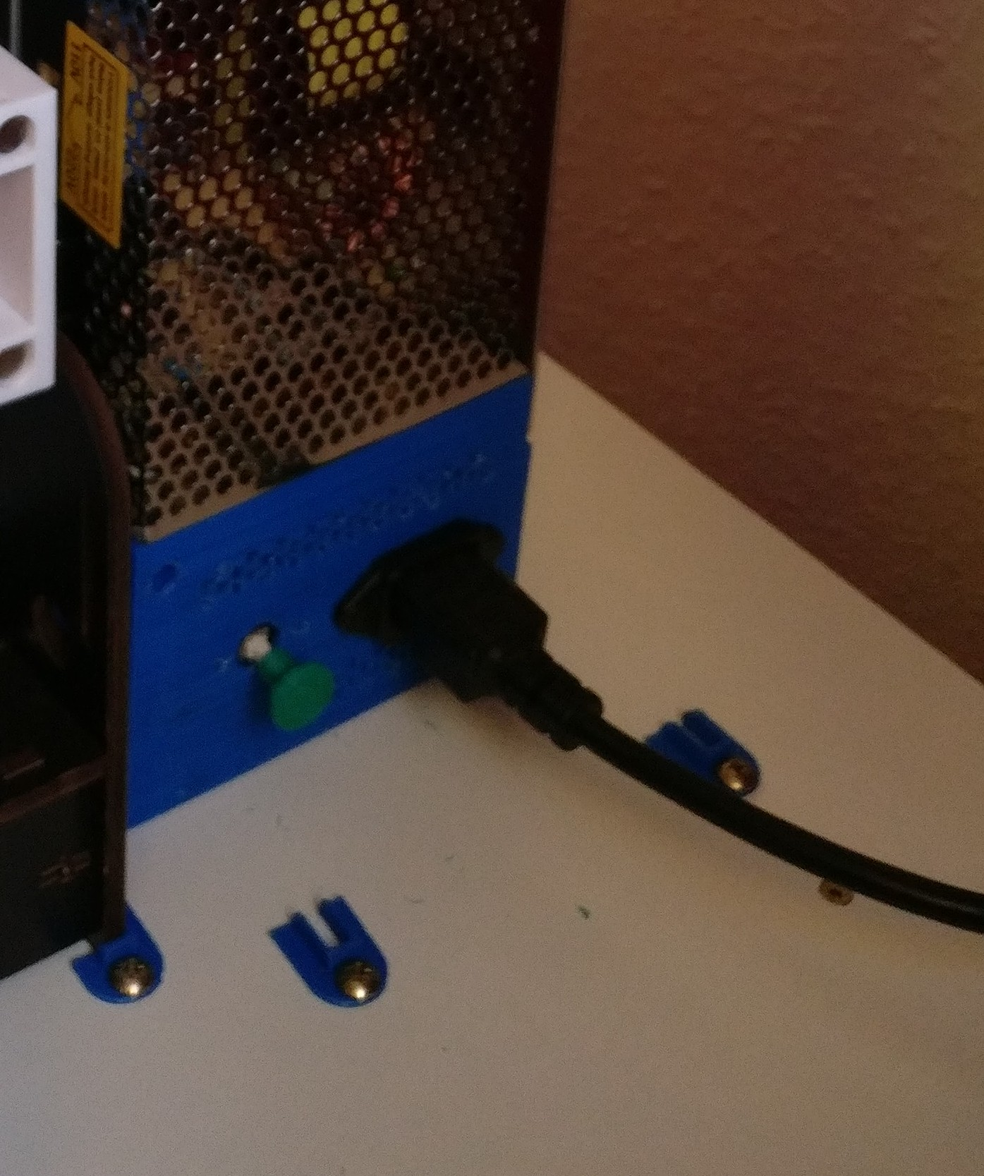 Power Supply Cover and old PC Power Switch by gnibeil - Thingiverse