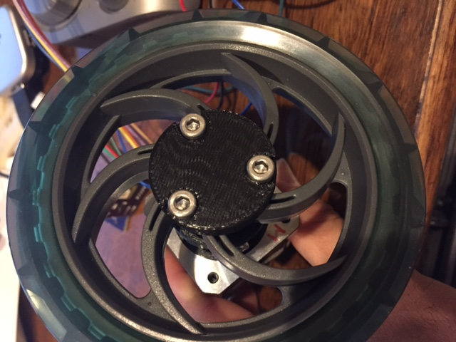 Vex to stepper motor adapter hub by dmatsumoto - Thingiverse