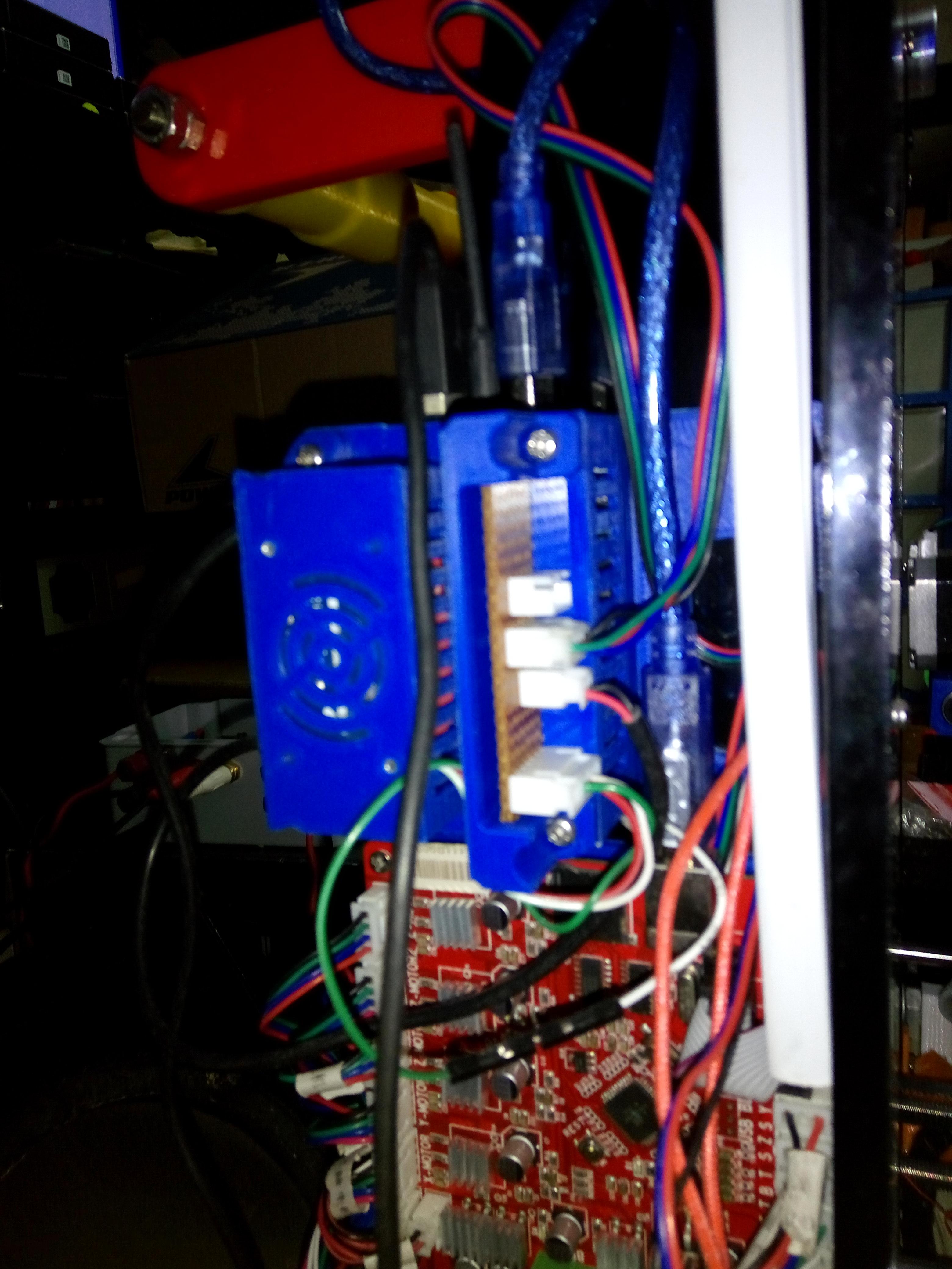 Anet A6/A8 Octoprint using Raspberry Pi3 / Orange Pi Lite by