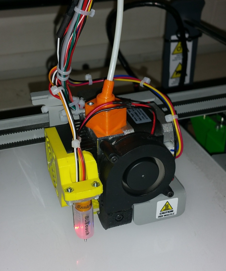 Hephestos 2 - BLTouch Mount by stonecoldfx - Thingiverse
