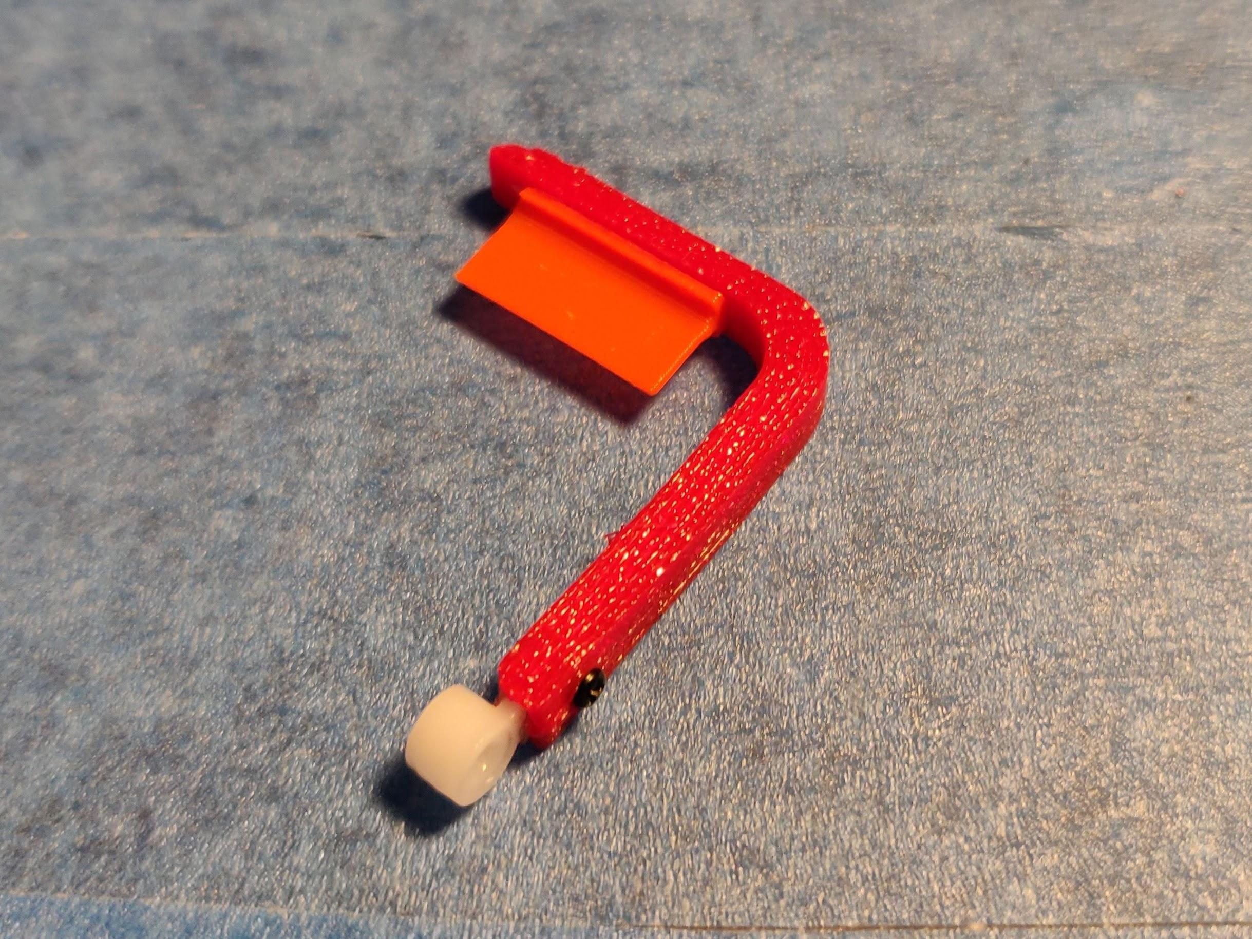 Assembled wiper