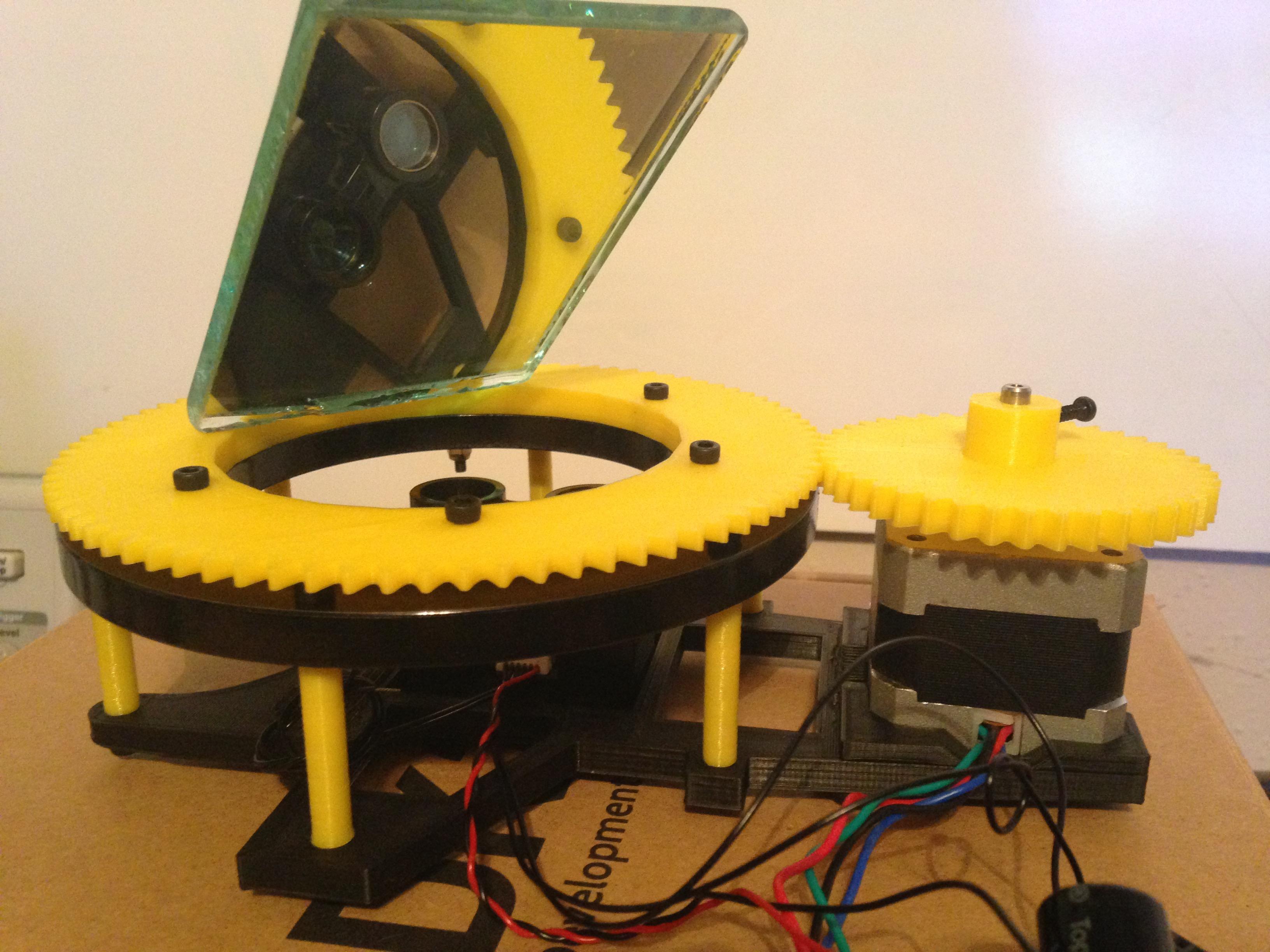 LIDAR-Lite Scanner by diabetemonster - Thingiverse